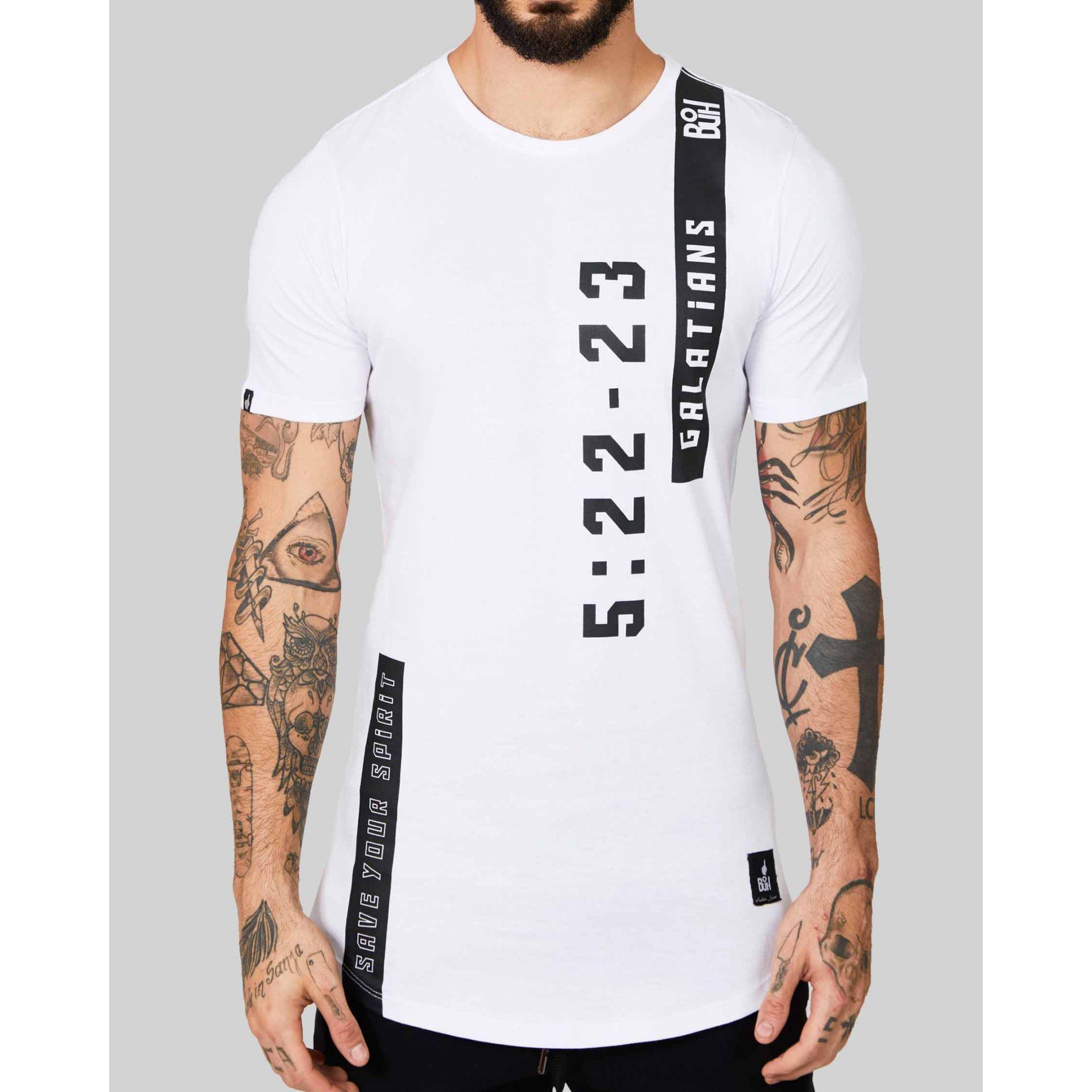 Camiseta Buh Gálatas White