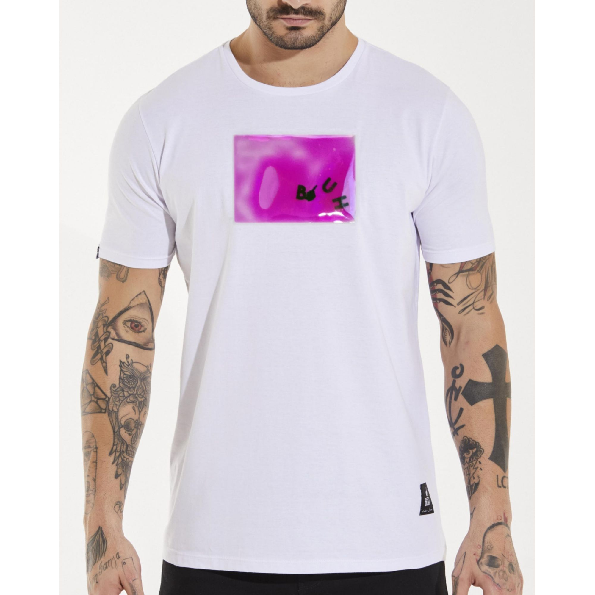 Camiseta Buh Gel White