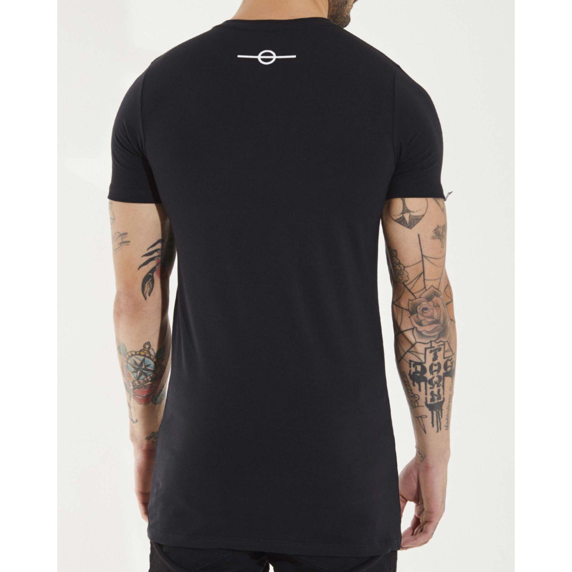 Camiseta Buh Glitter Black