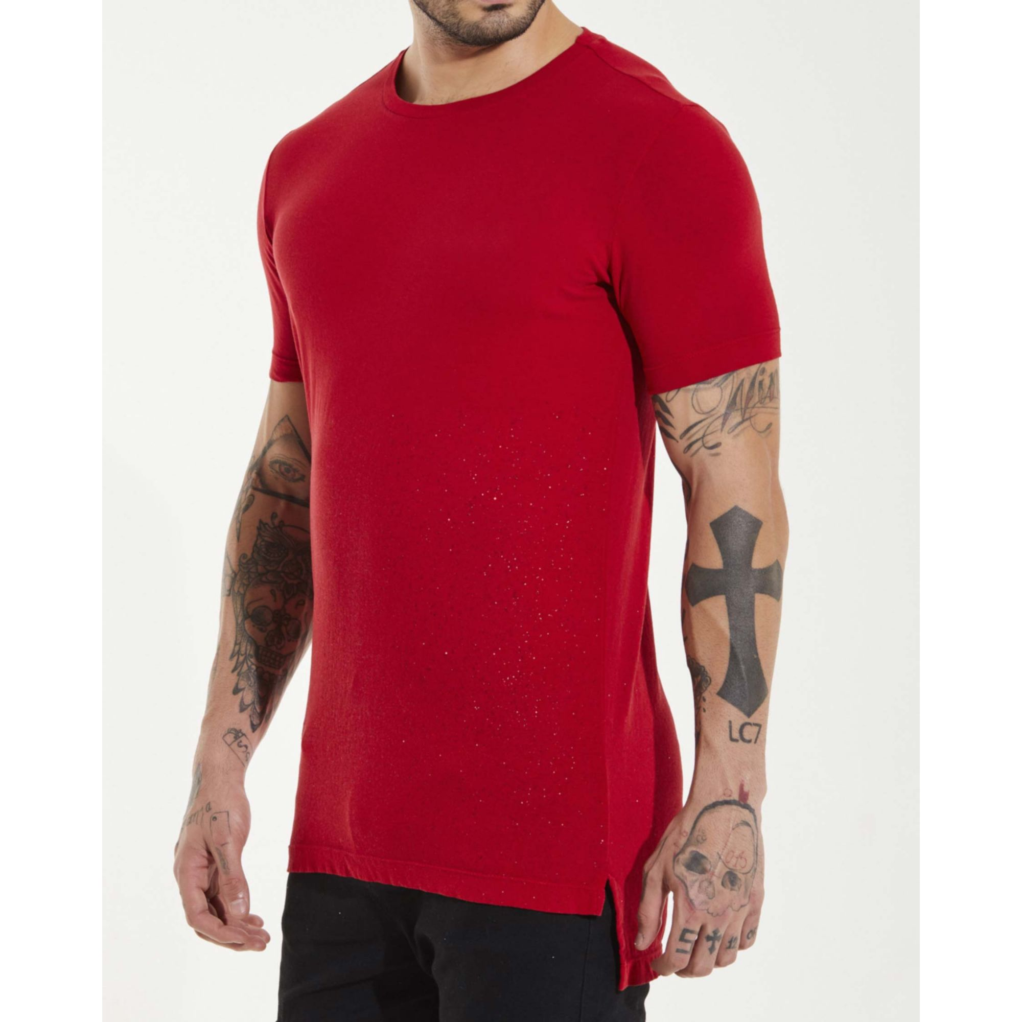 Camiseta Buh Glitter Red