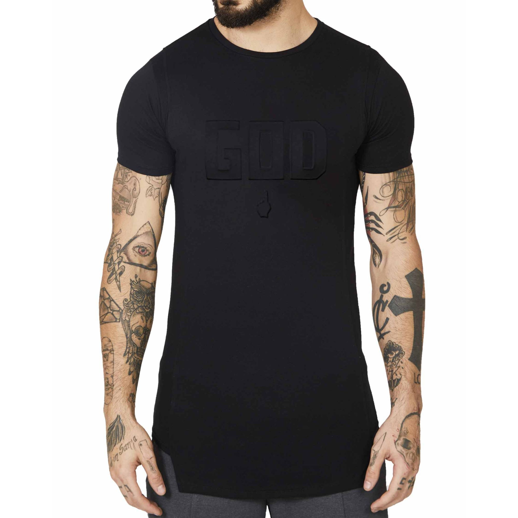 Camiseta Buh God Black
