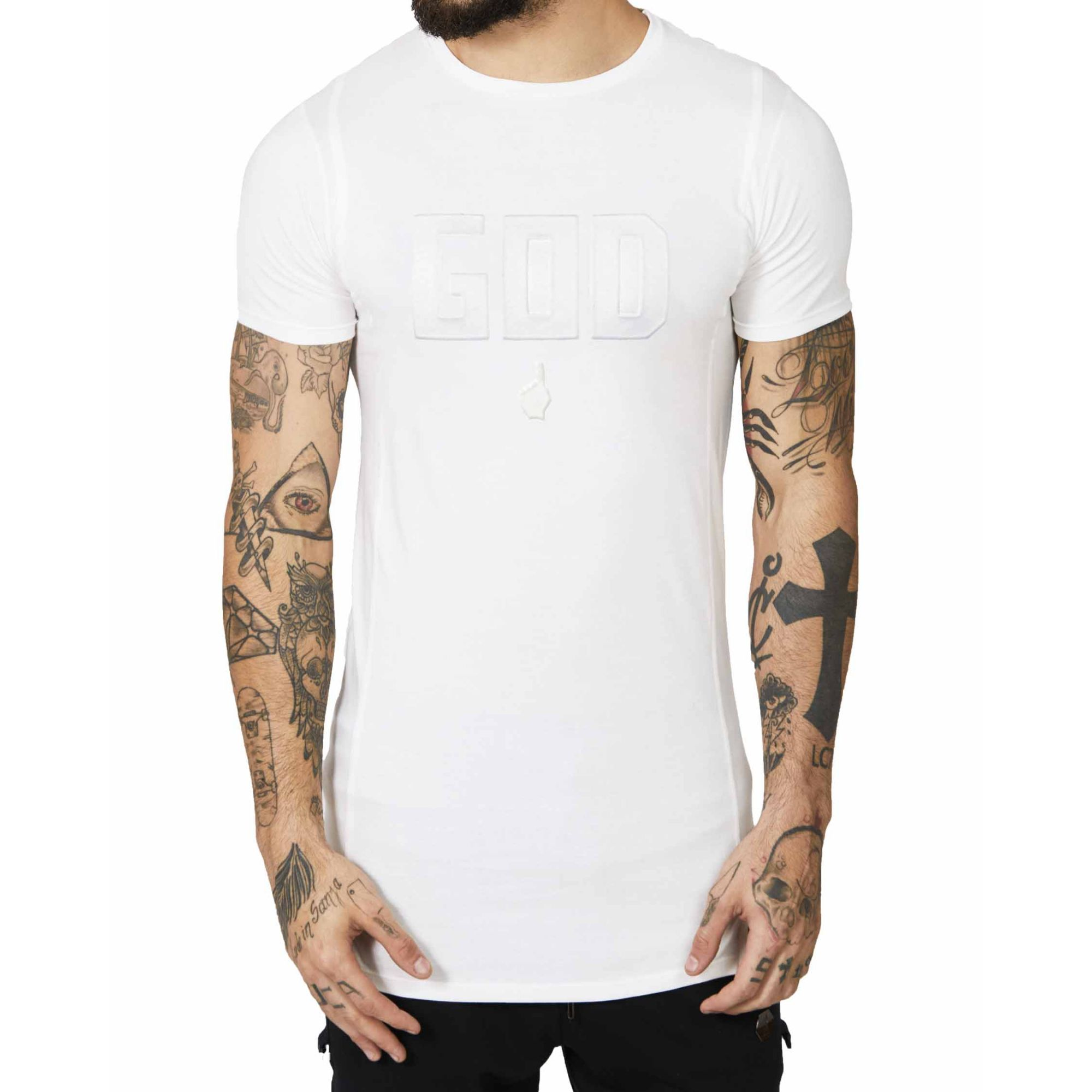 Camiseta Buh God White