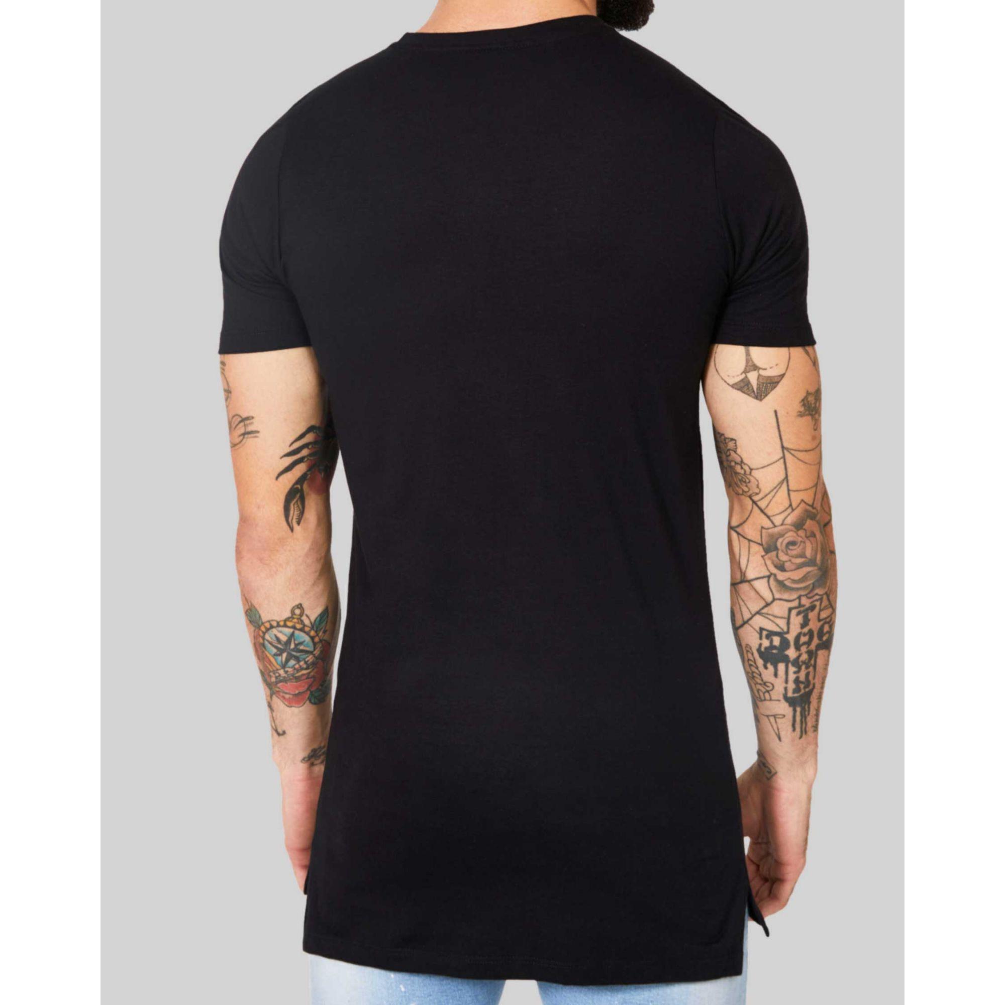 Camiseta Buh Golden Plate Black