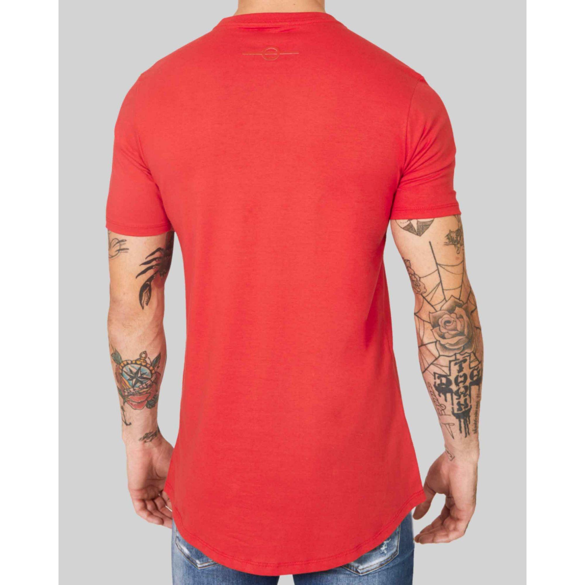 Camiseta Buh Golden Plate Red