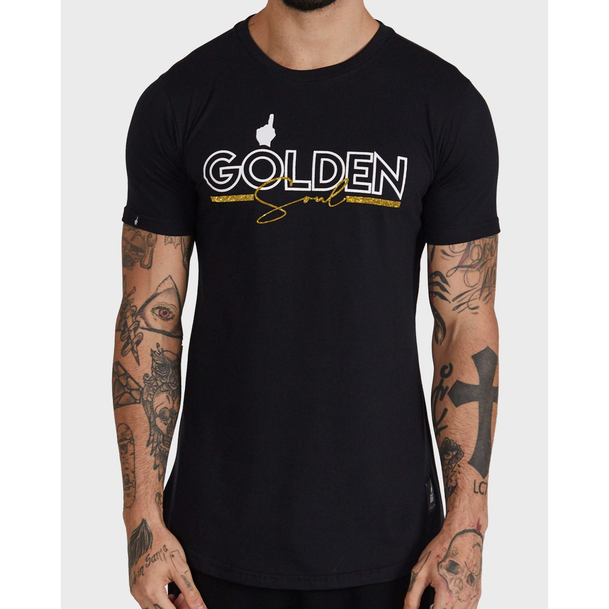 Camiseta Buh Golden Soul Black