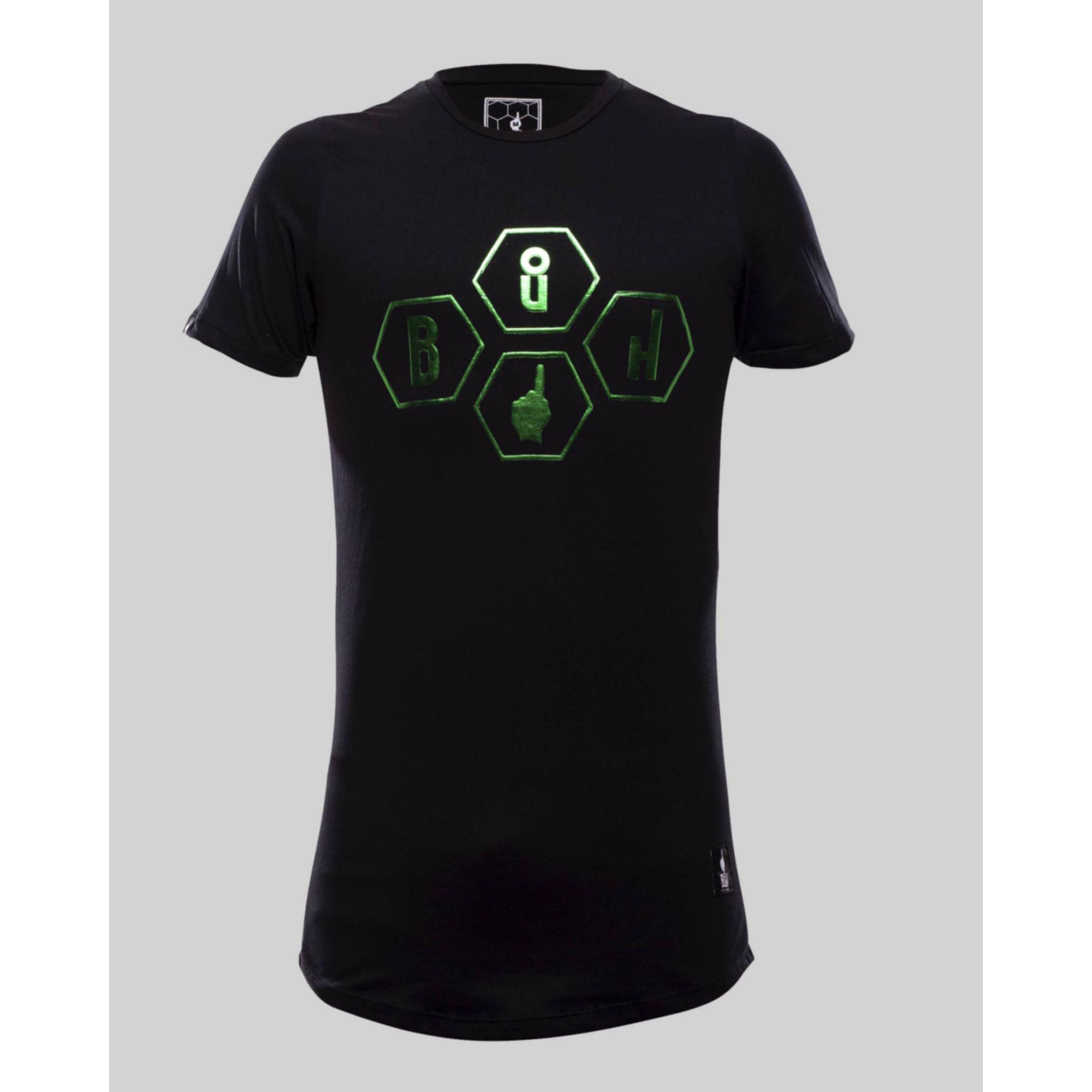 Camiseta Buh Gomos Relevo Black