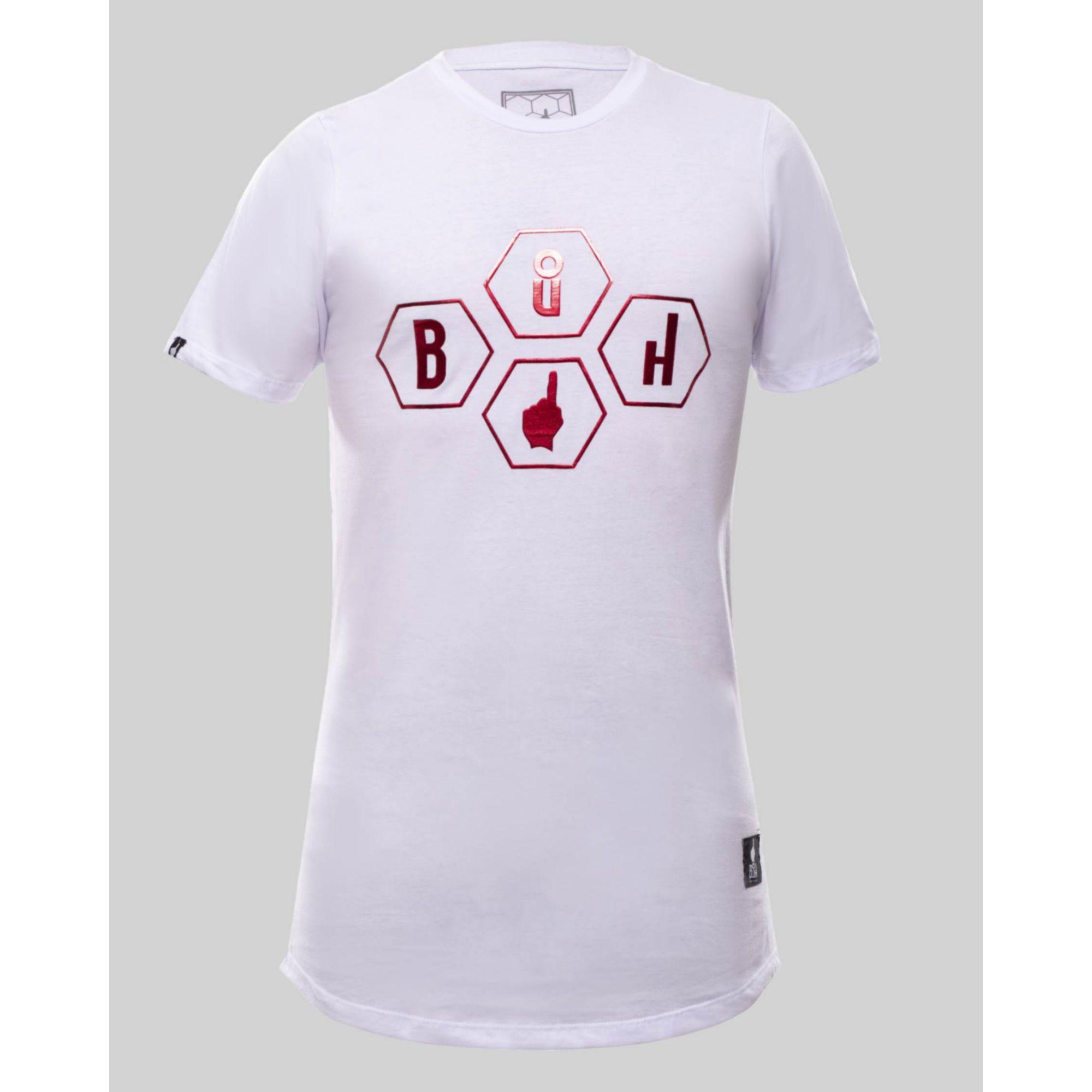 Camiseta Buh Gomos Relevo White