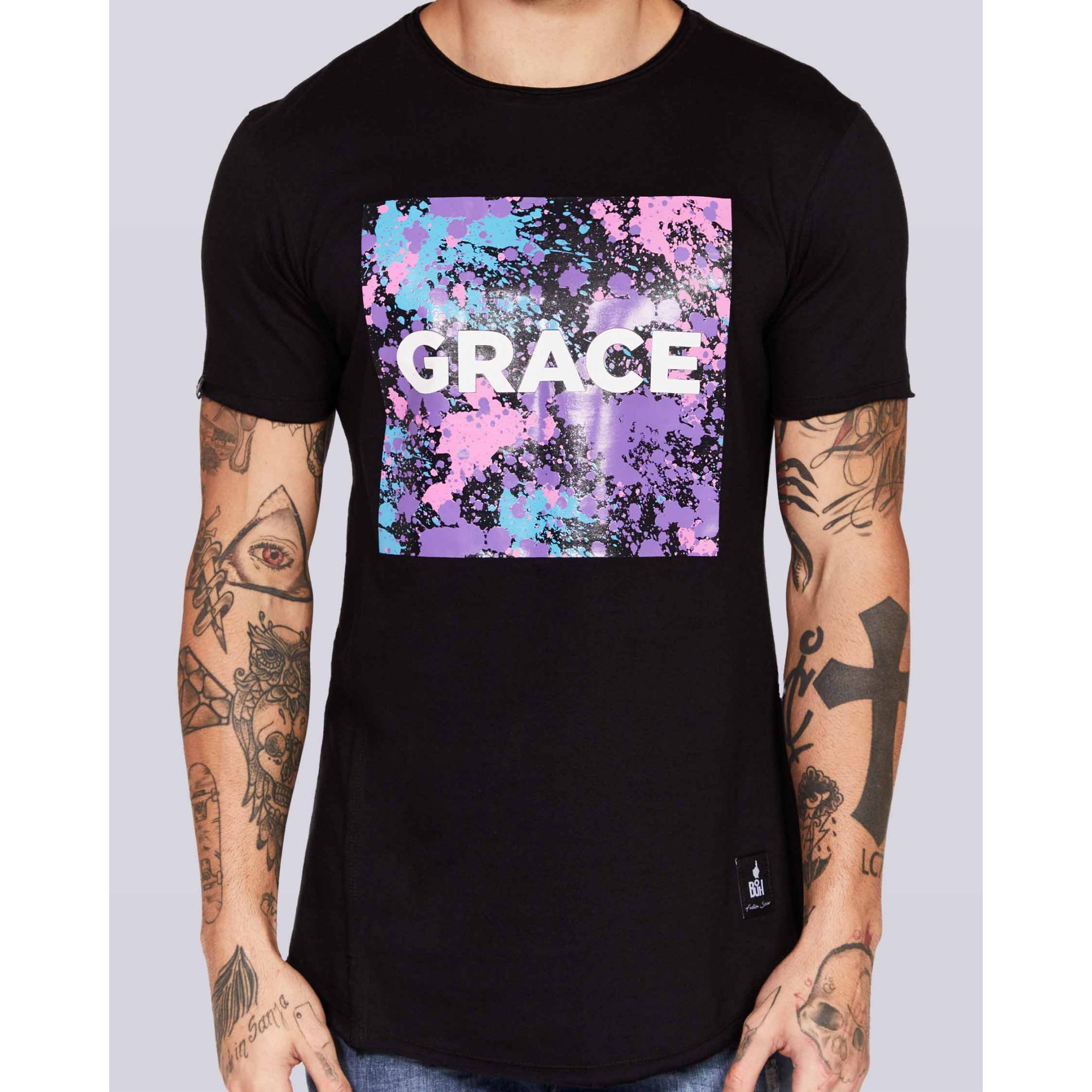 Camiseta Buh Grace Black