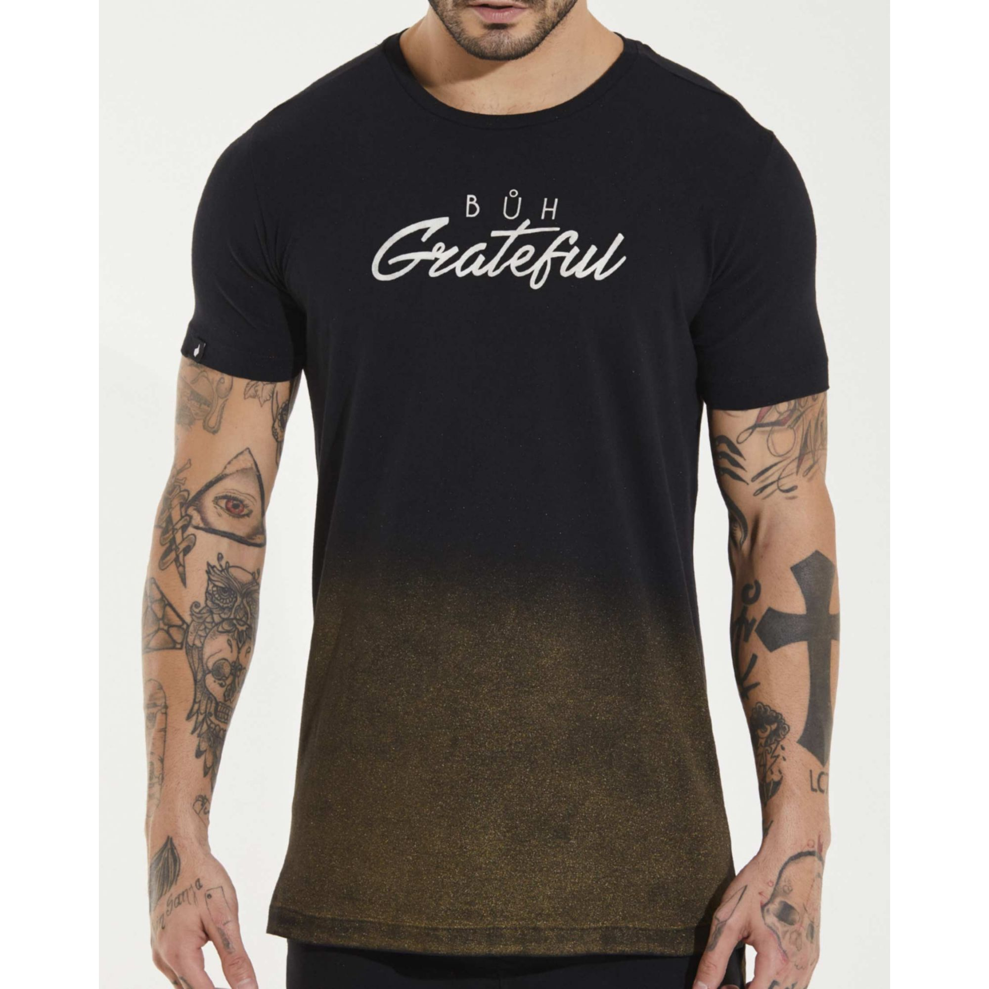 Camiseta Buh Grateful Black