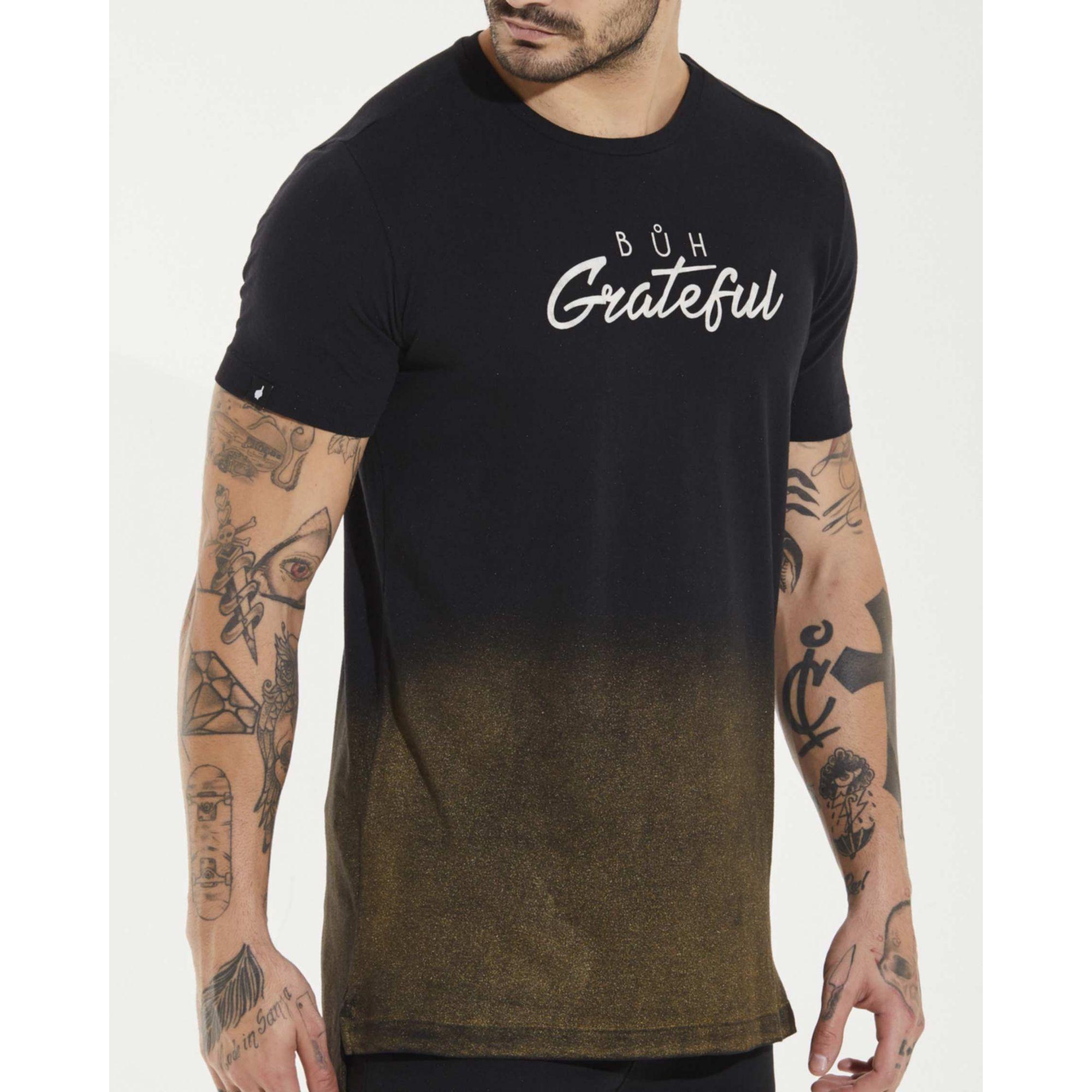 Camiseta Buh Grateful Black