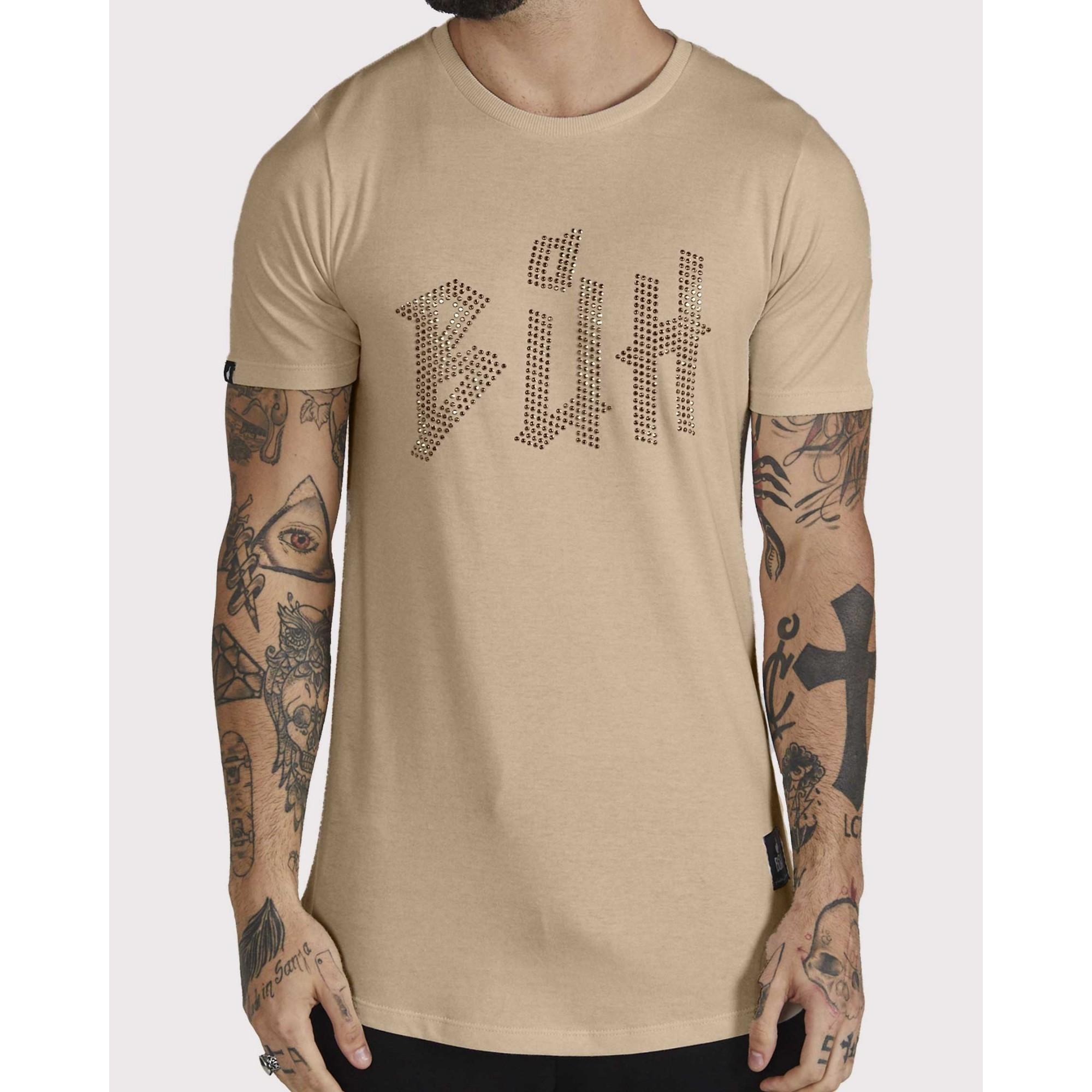 Camiseta Buh HotFlix Bege