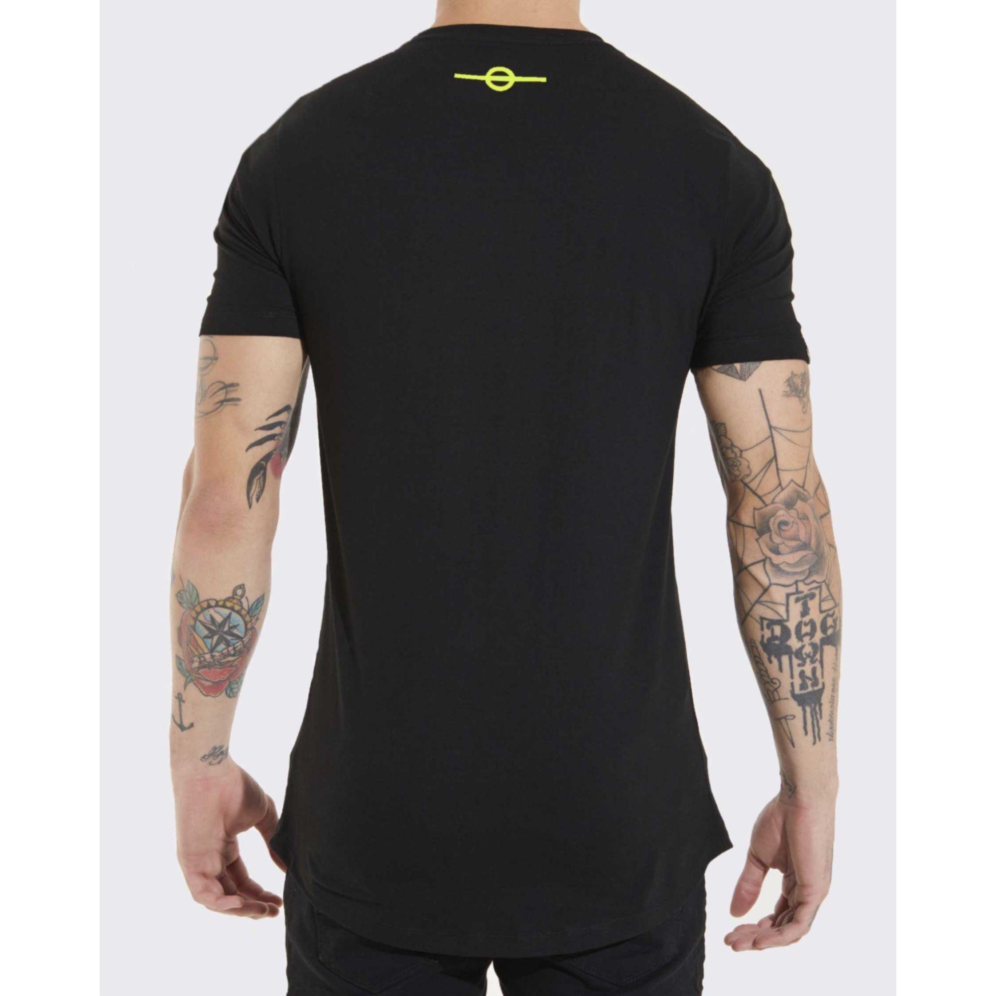 Camiseta Buh Inverse Black & Neon