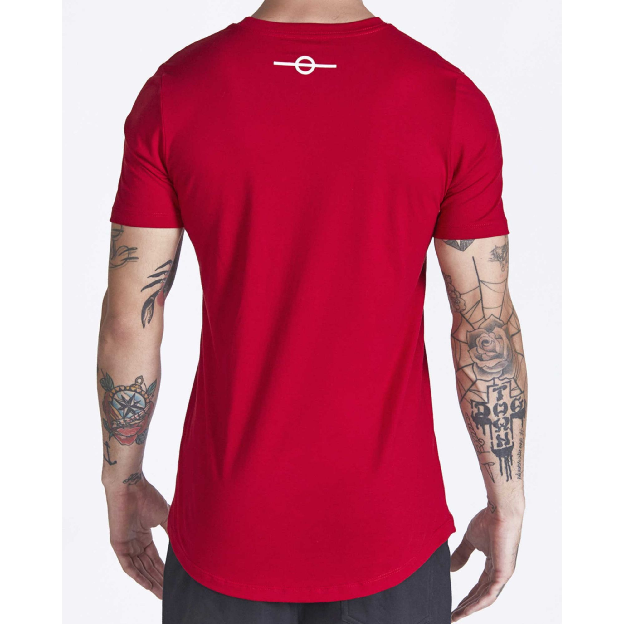 Camiseta Buh Inverse Red