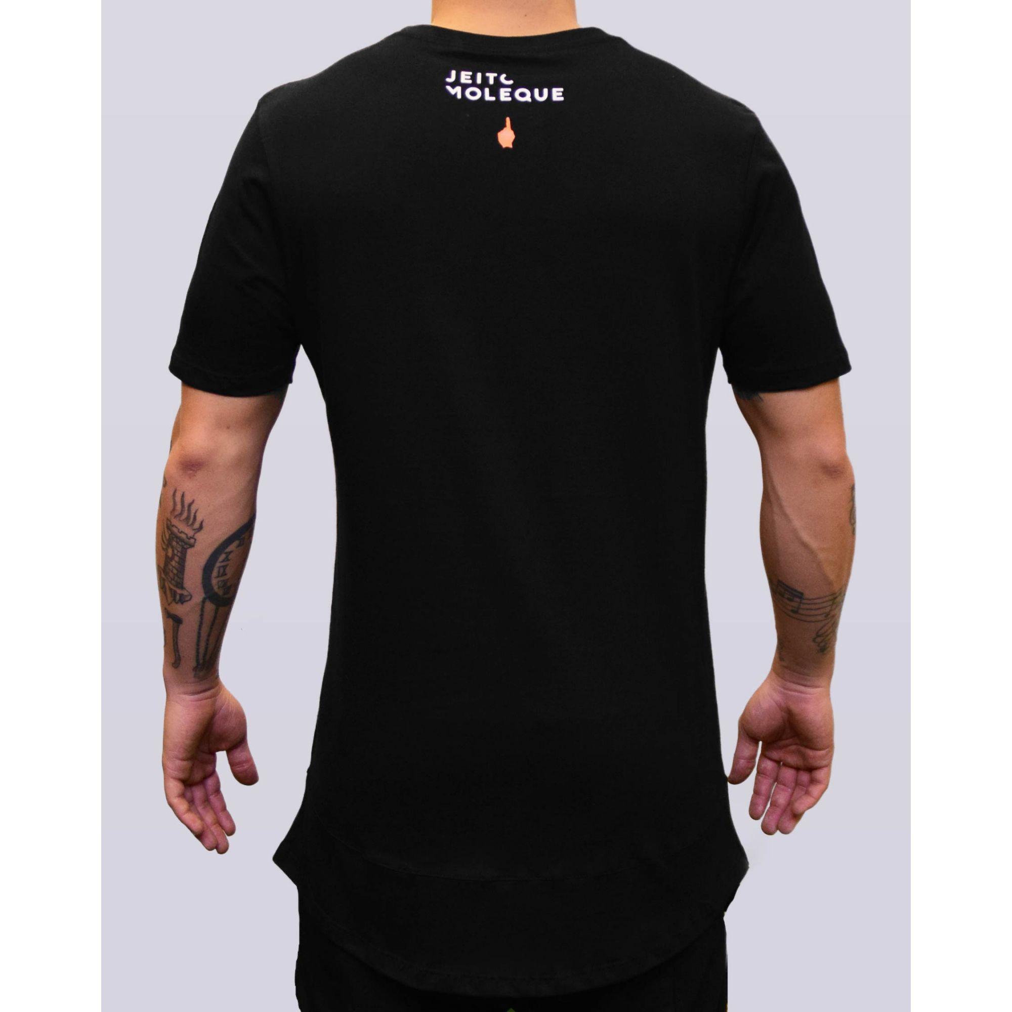 Camiseta Buh Jeito Moleque Black