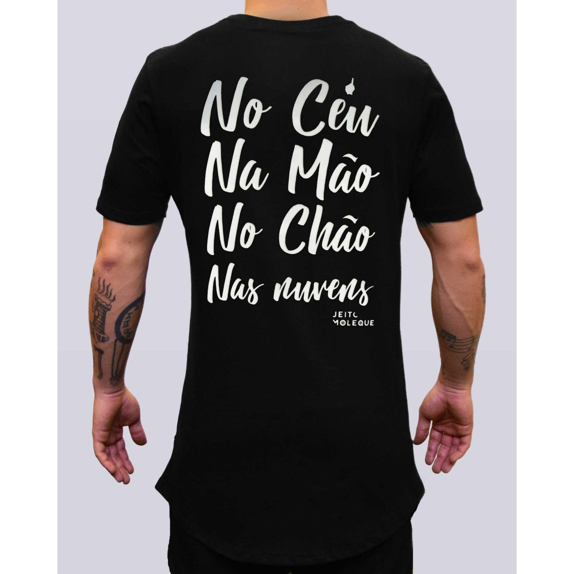Camiseta Buh Jeito Moleque Nas Nuvens Black