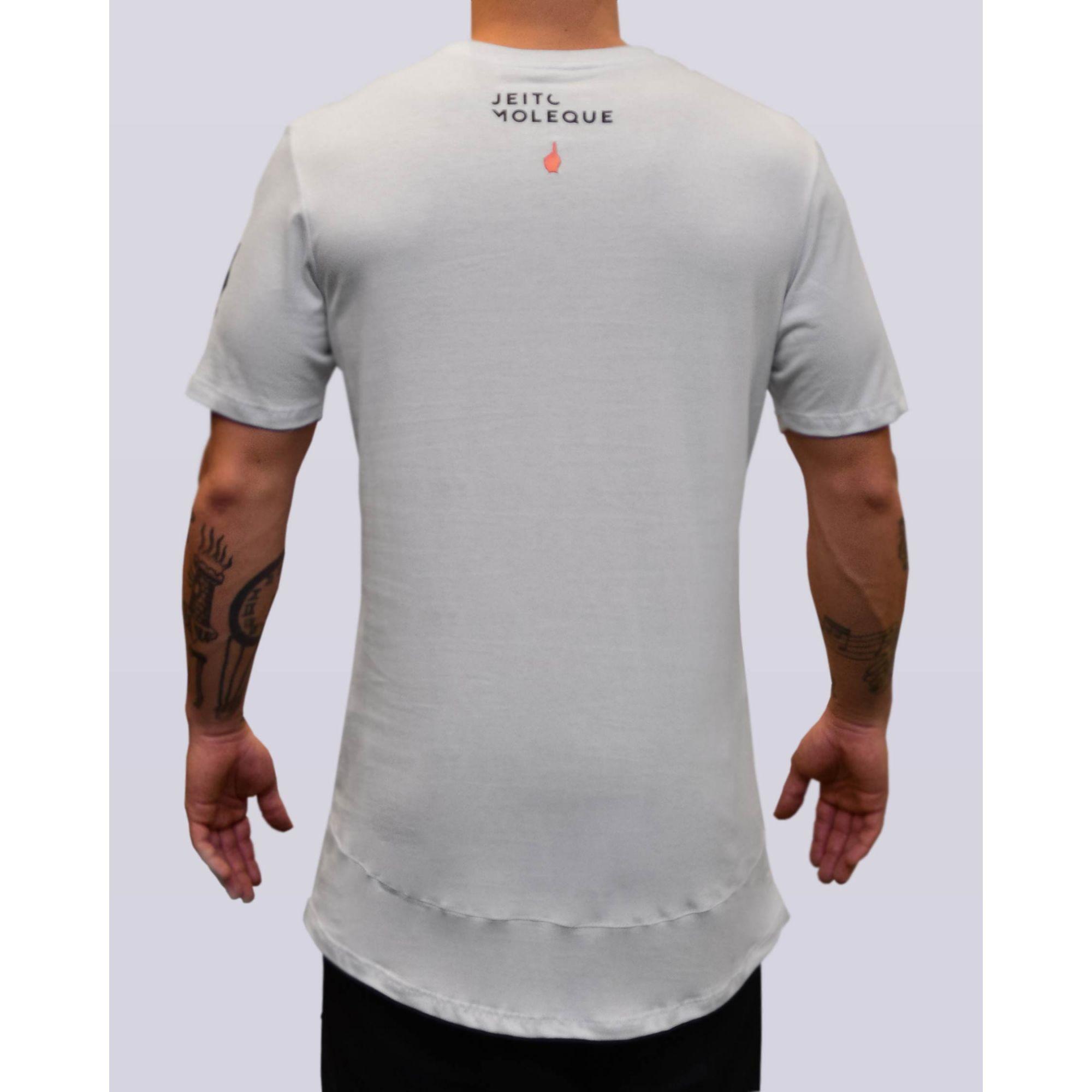 Camiseta Buh Jeito Moleque White