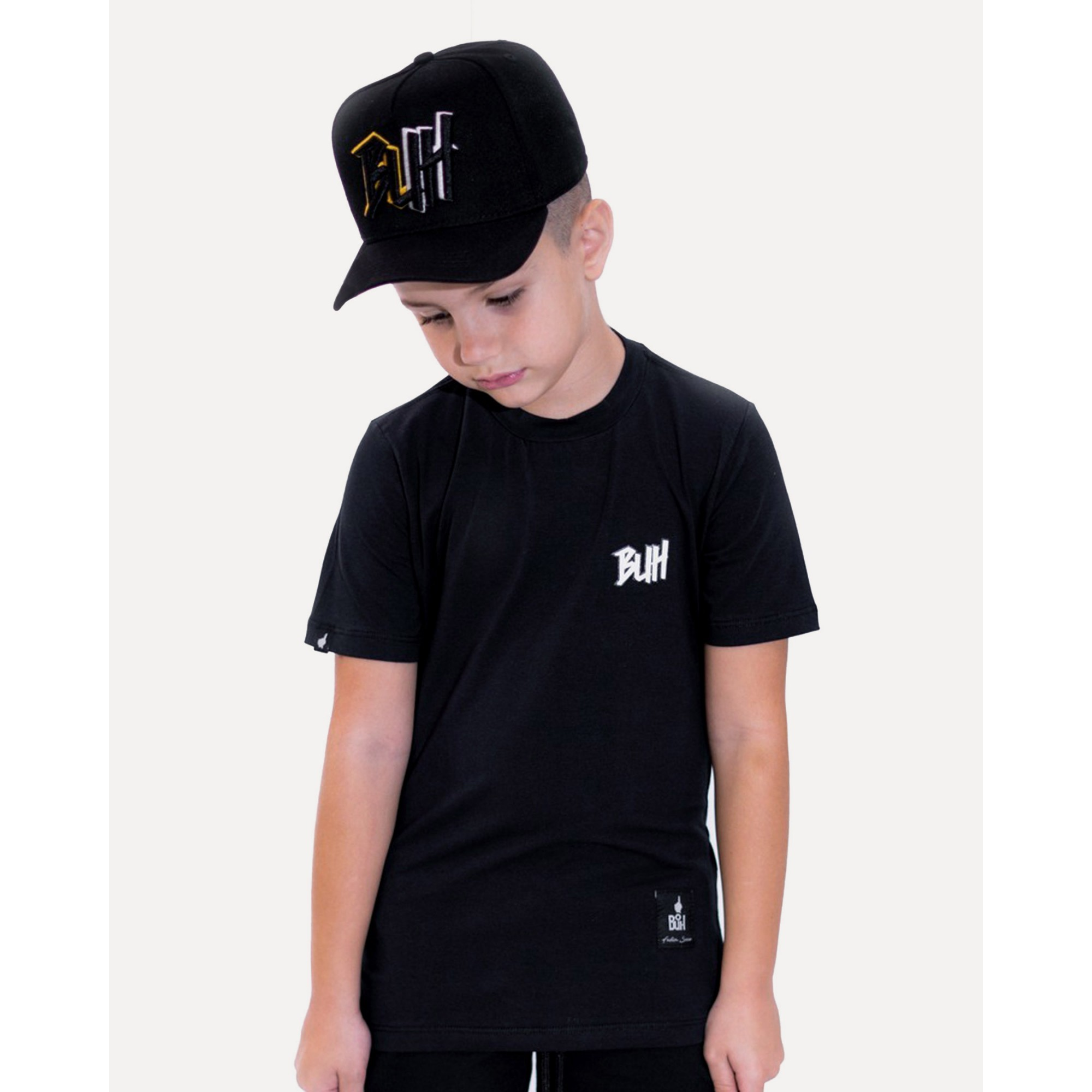 Camiseta Buh Kids Basic HQ Black