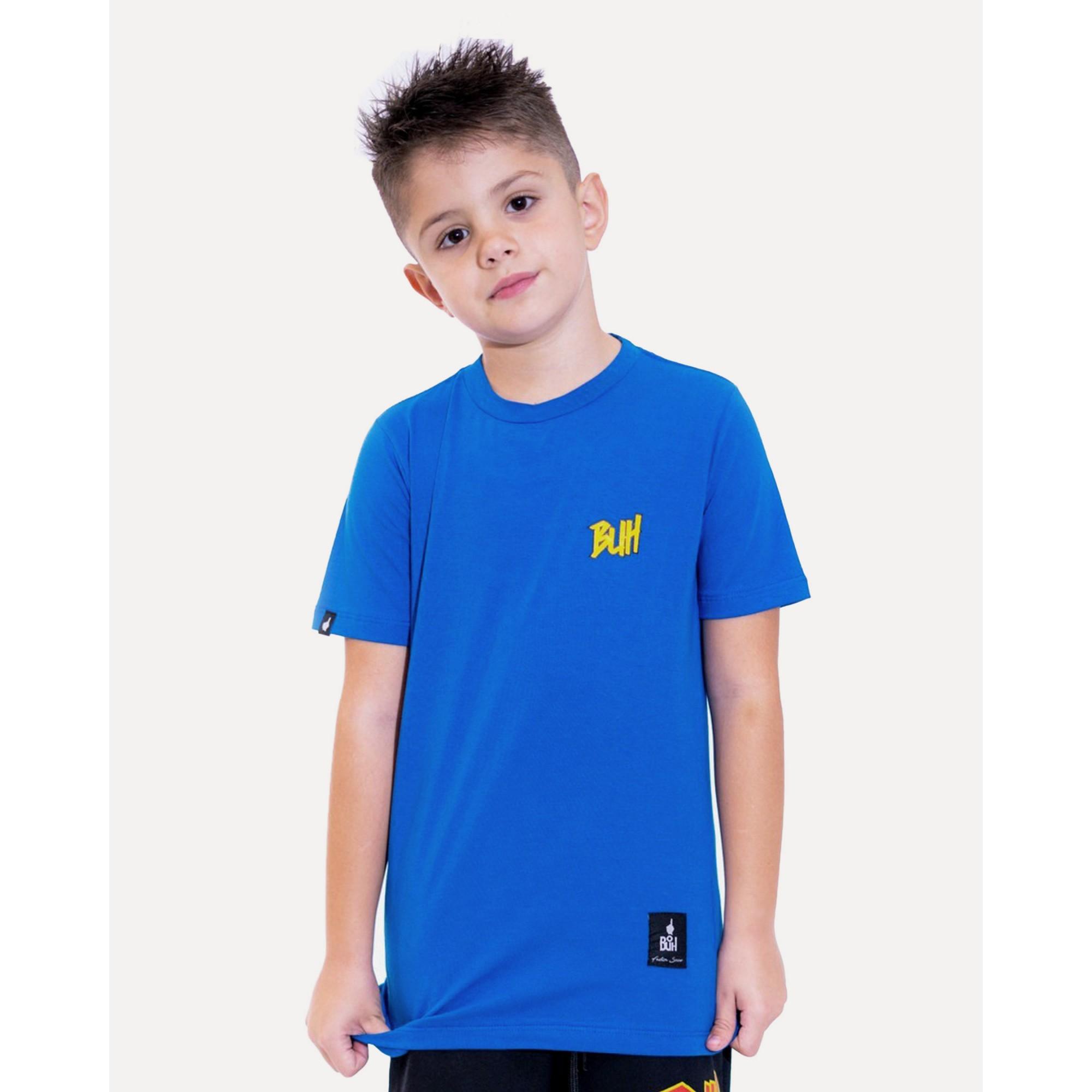 Camiseta Buh Kids Basic HQ Blue