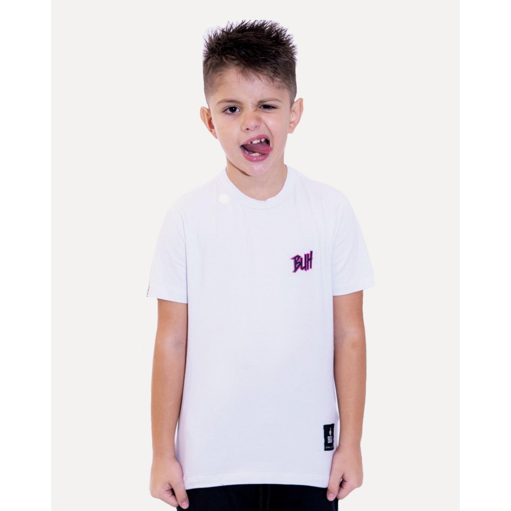Camiseta Buh Kids Basic HQ White