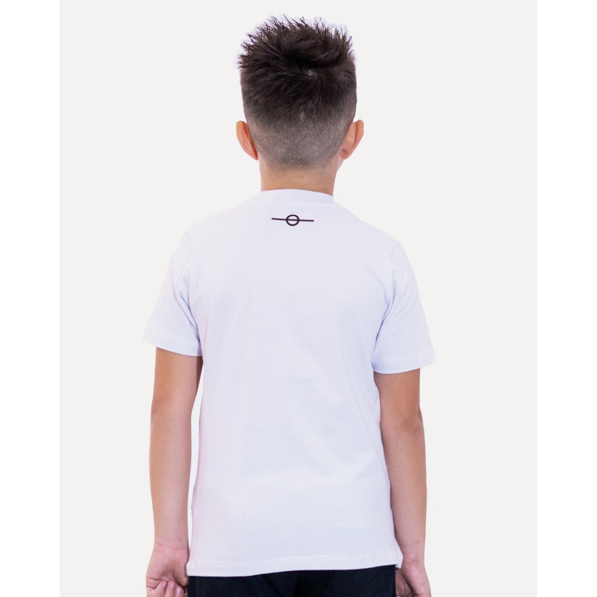 Camiseta Buh Kids Basic HQ White