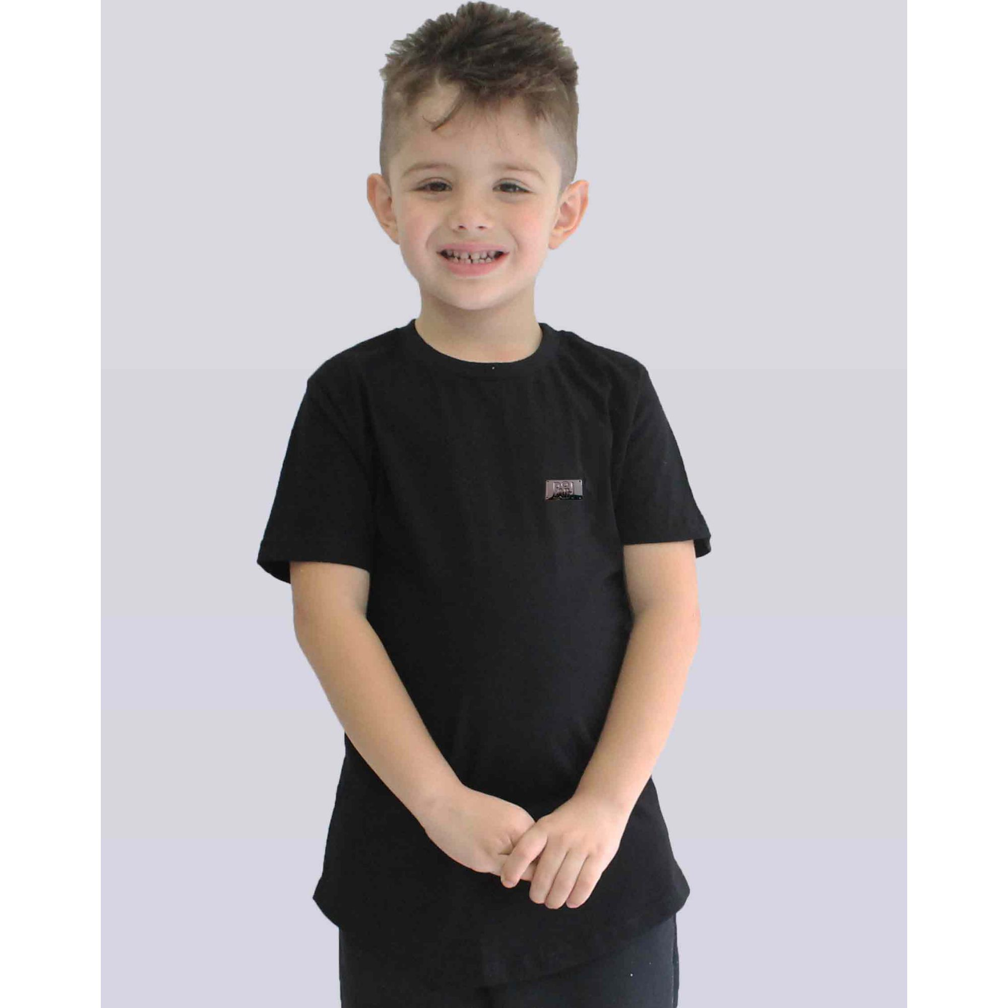Camiseta Buh Kids Basic Plate Black