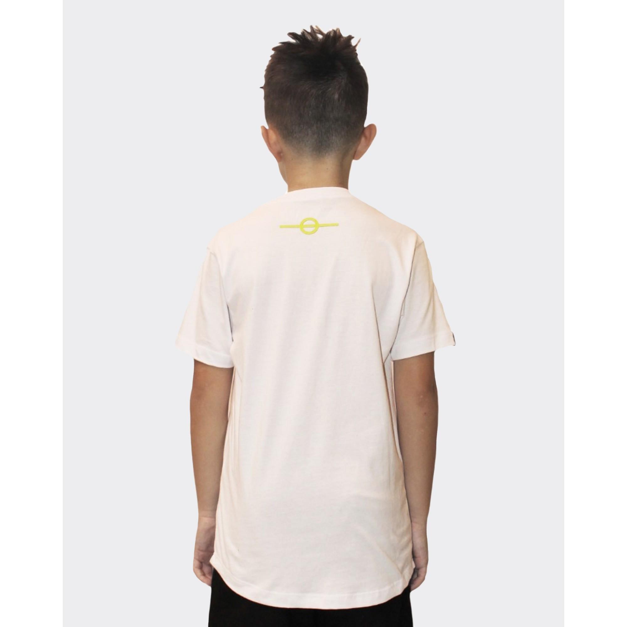 Camiseta Buh Kids Bicolor White