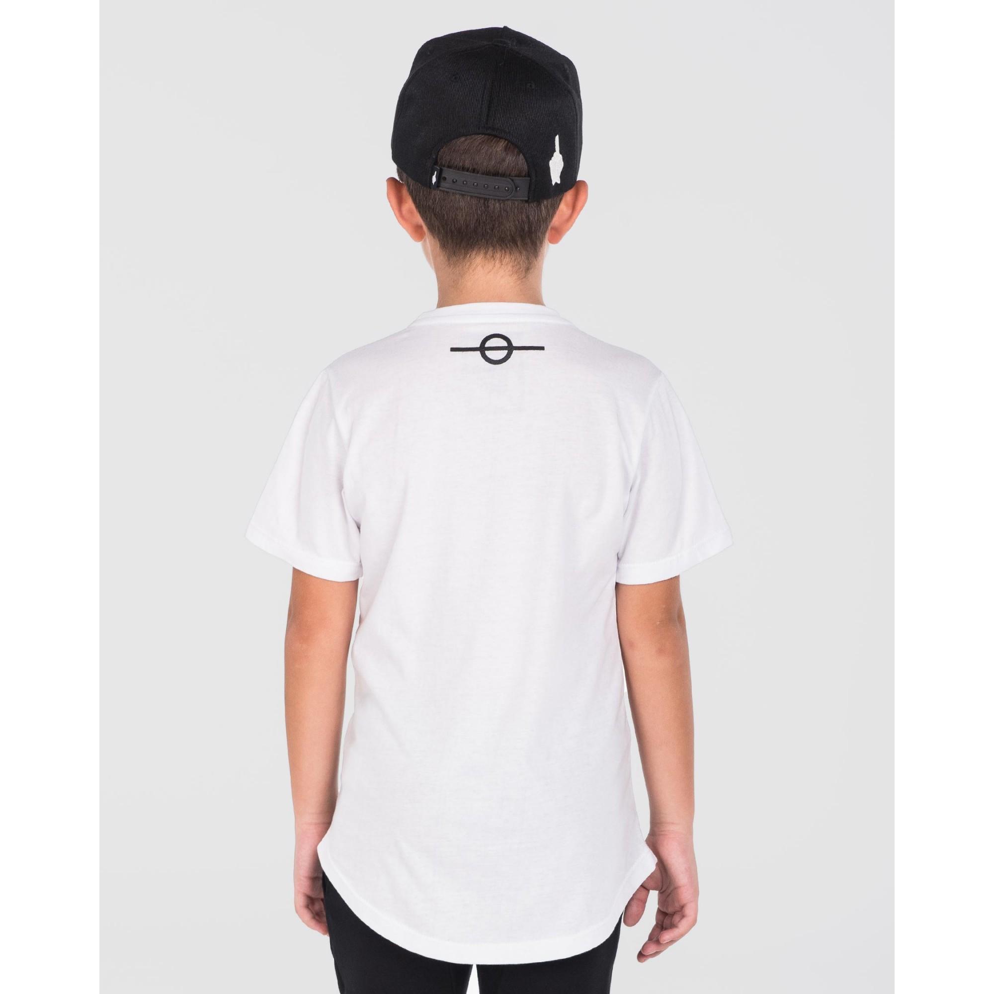 Camiseta Buh Kids Bordado White