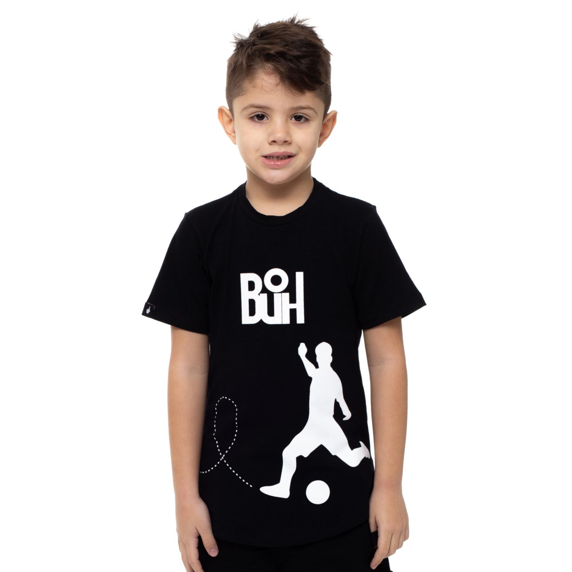 Camiseta Buh Kids Chute Black