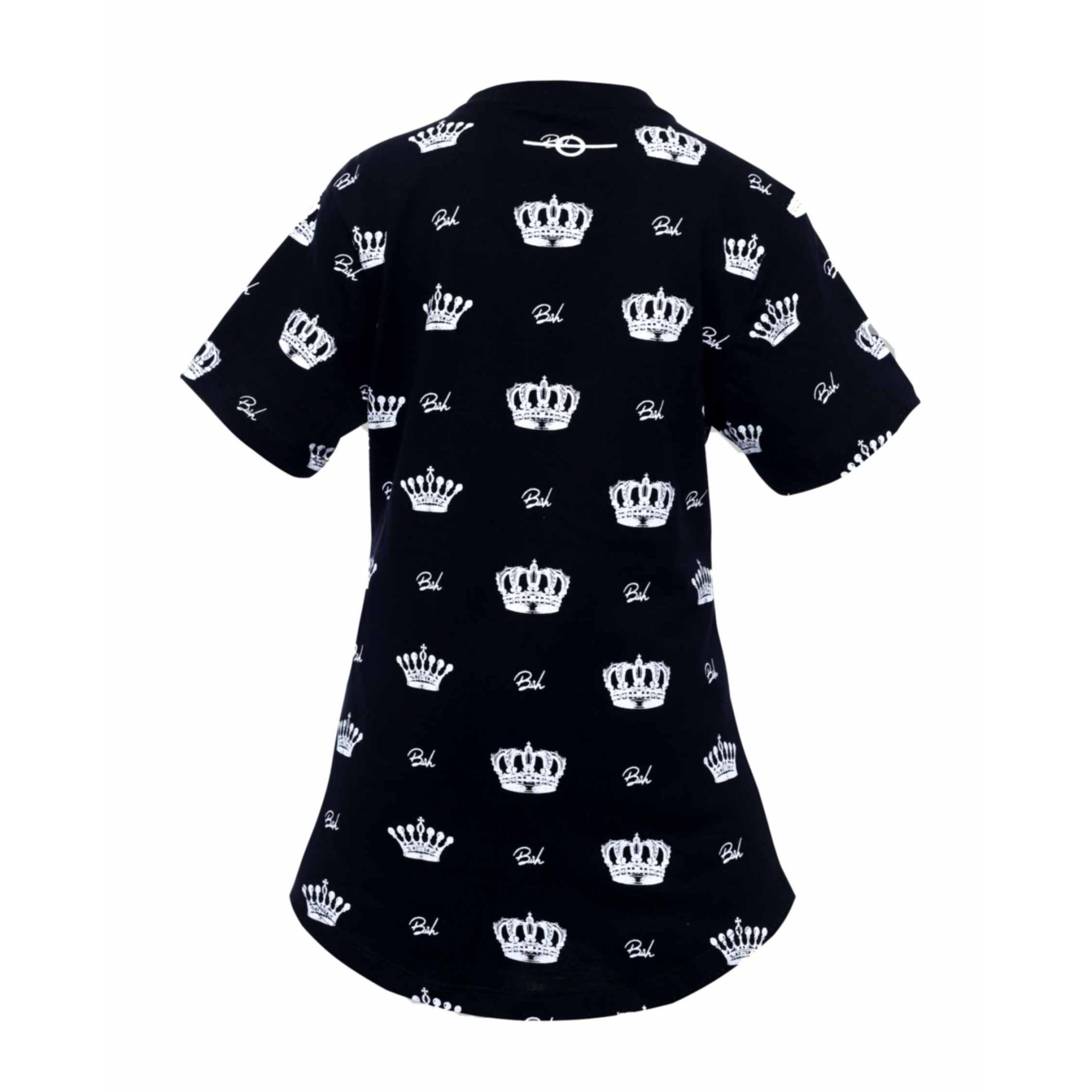 Camiseta Buh Kids Coroa Black
