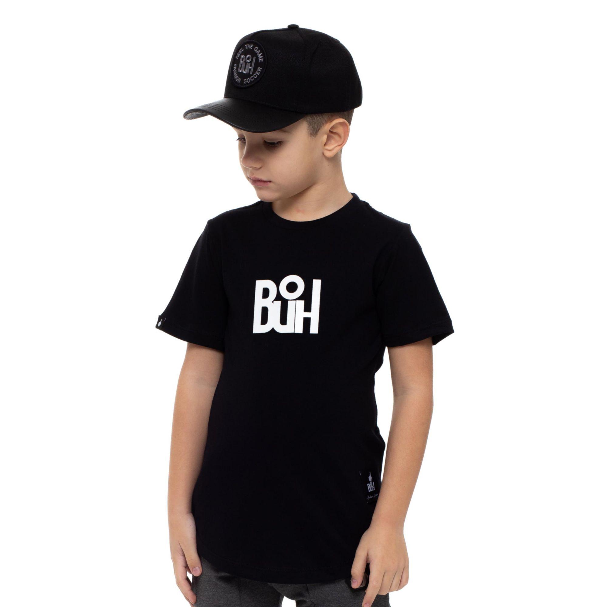 Camiseta Buh Kids Craque Black