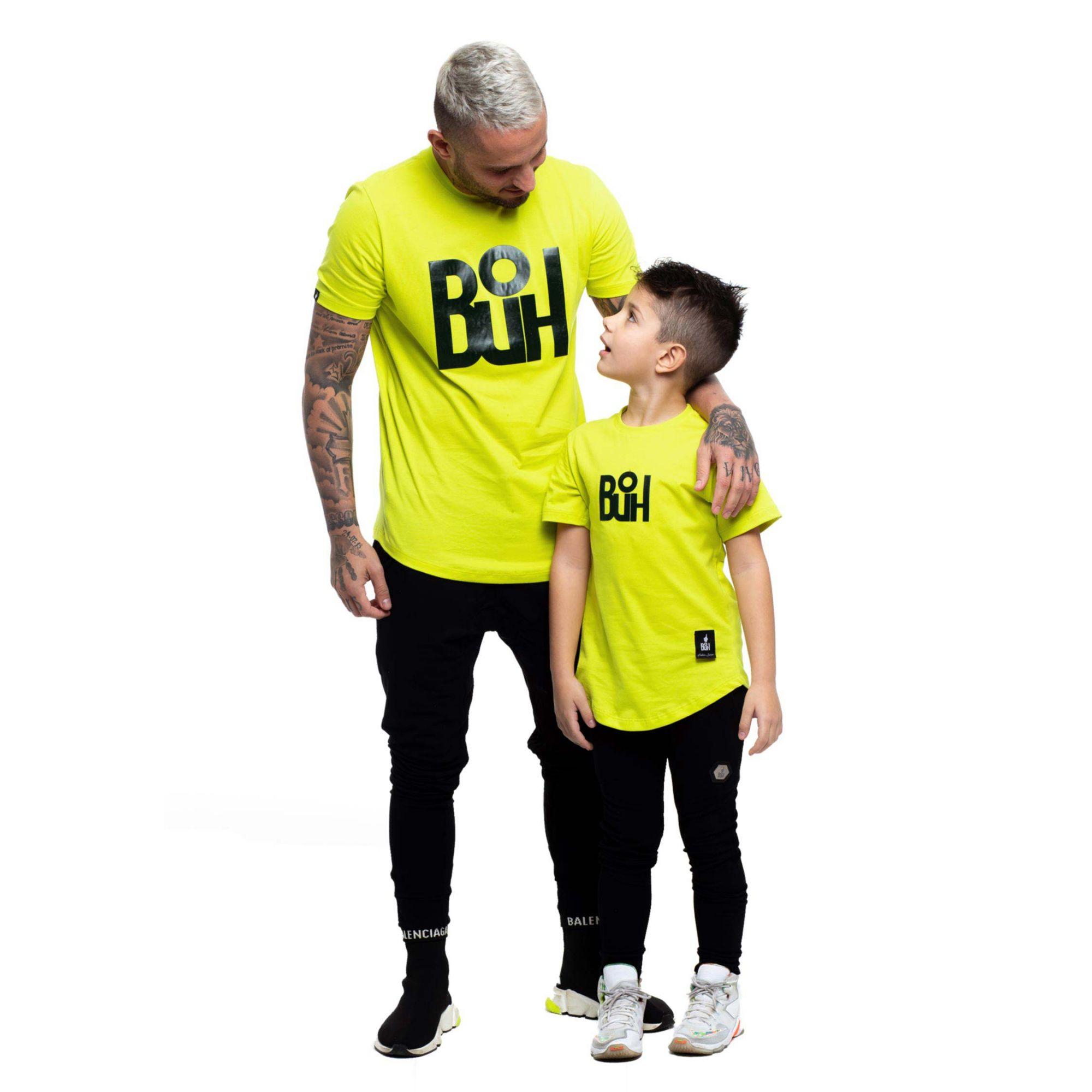 Camiseta Buh Kids Craque Verde Limão