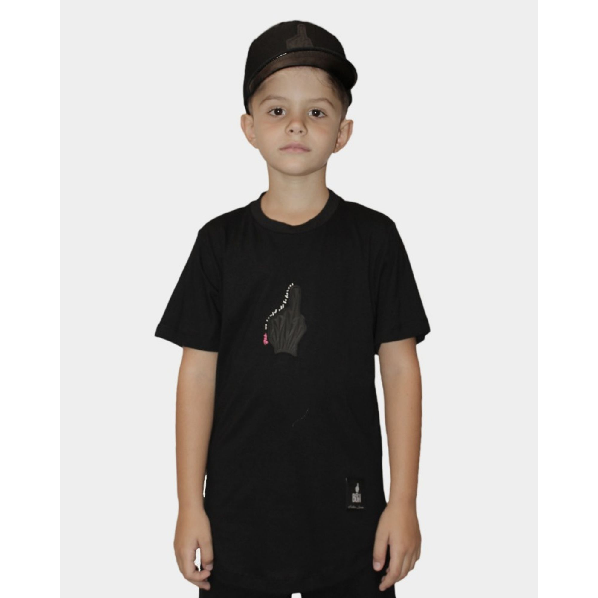 Camiseta Buh Kids Diamond Black
