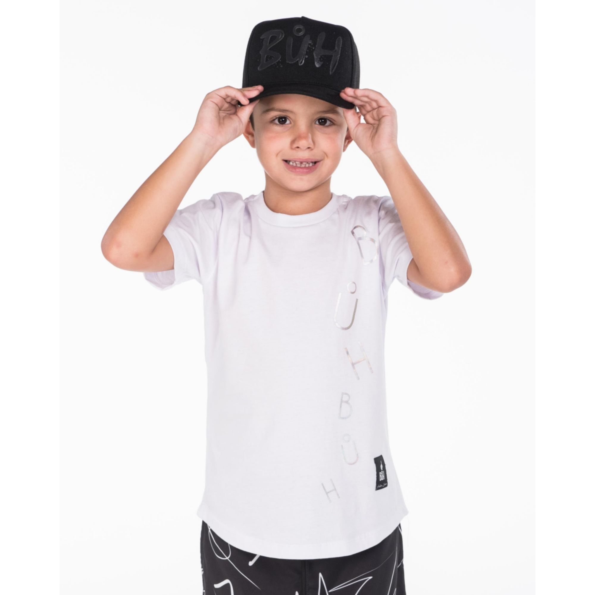Camiseta Buh Kids Fall White