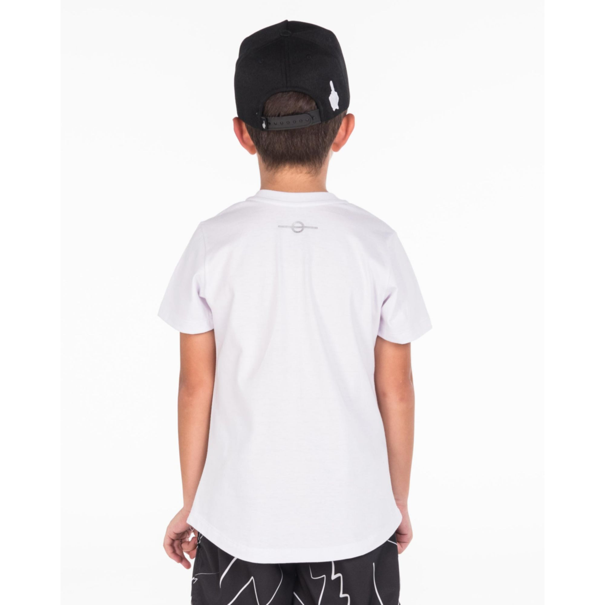 Camiseta Buh Kids Fall White