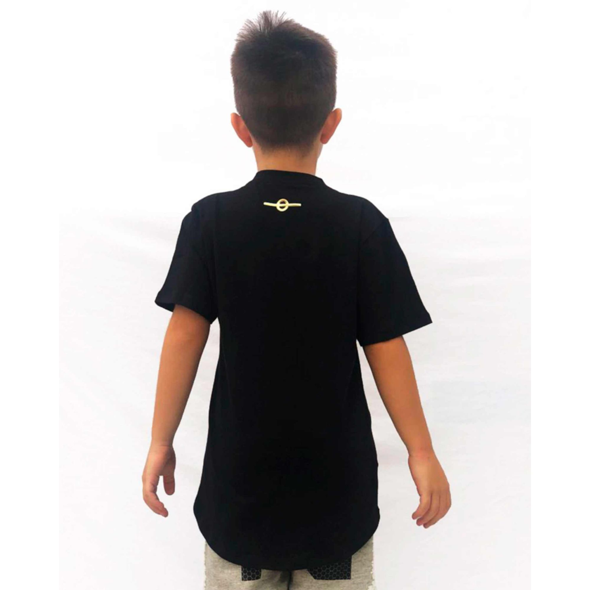 Camiseta Buh Kids Fashion Player Black