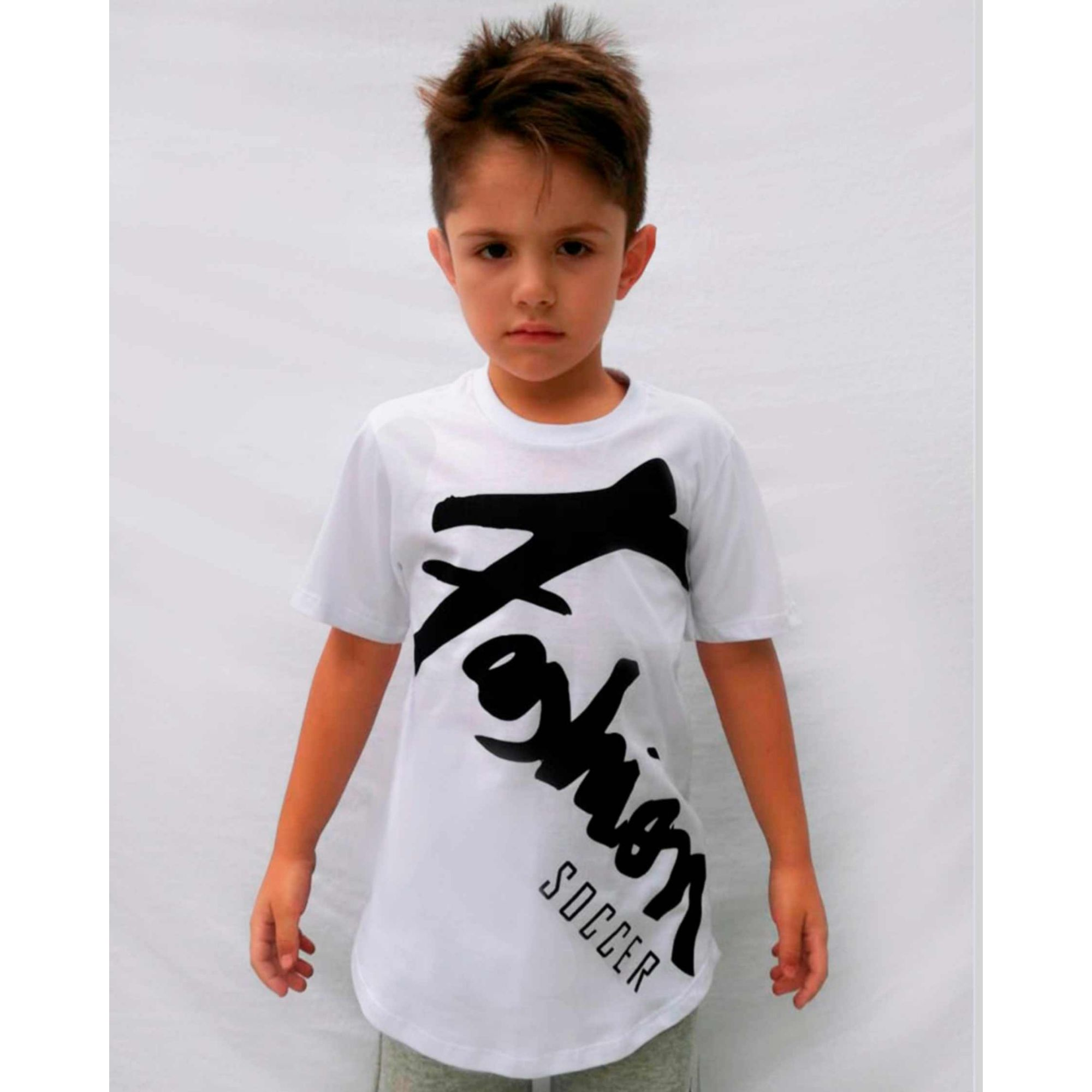 Camiseta Buh Kids Fashion Player White