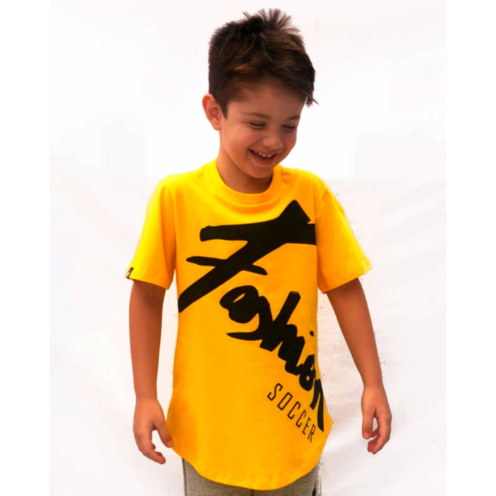Camiseta Buh Kids Fashion Player Yellow