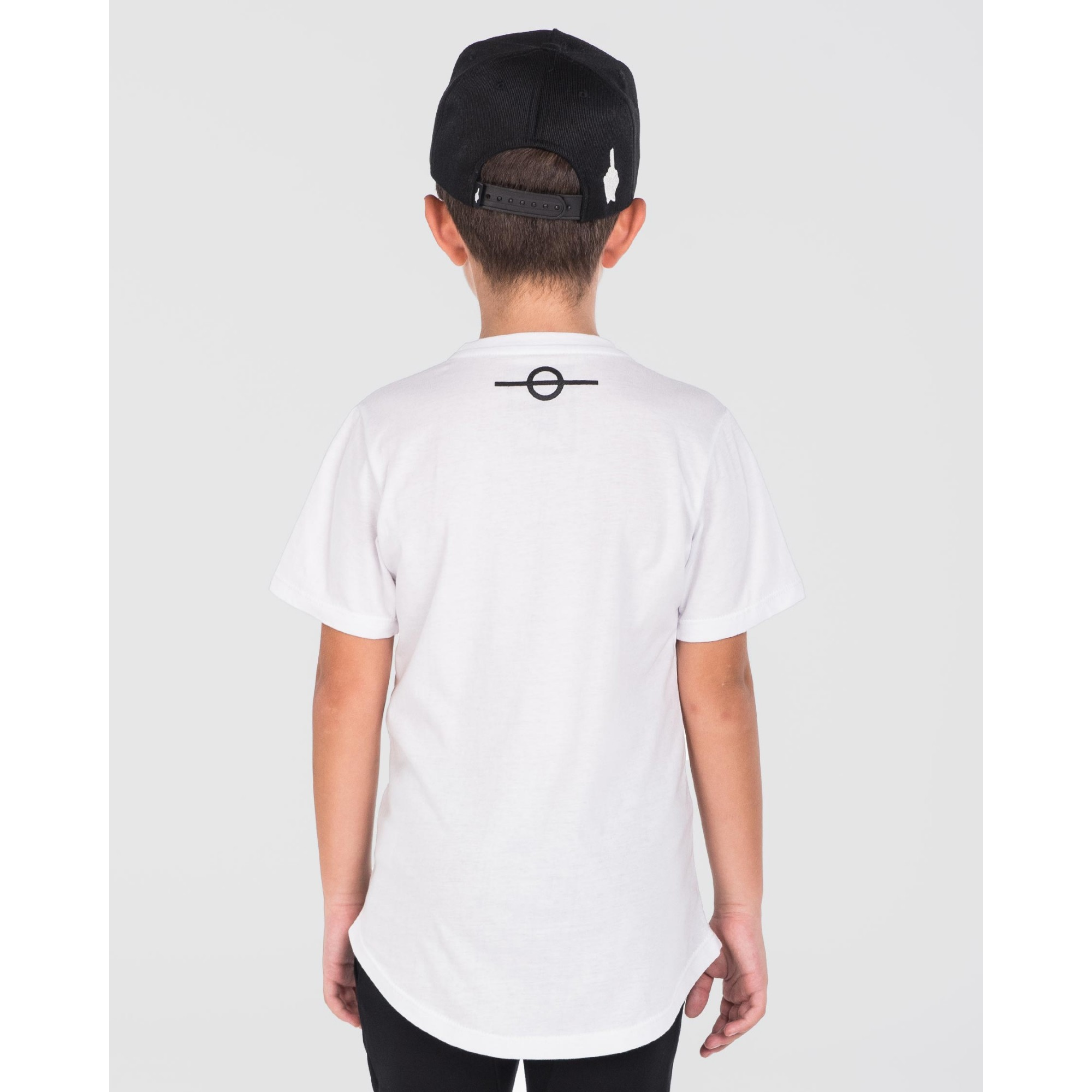 Camiseta Buh Kids Fire Relevo White