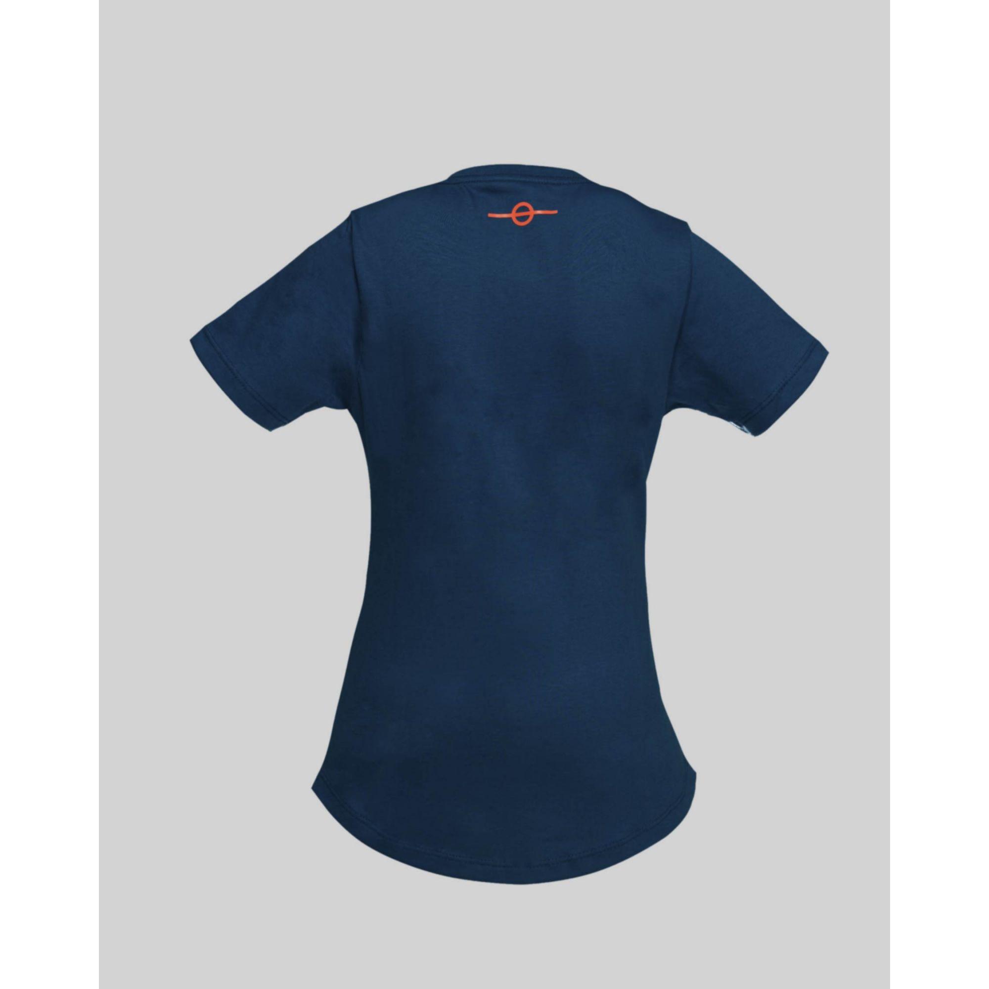 Camiseta Buh Kids Fluor Square Blue