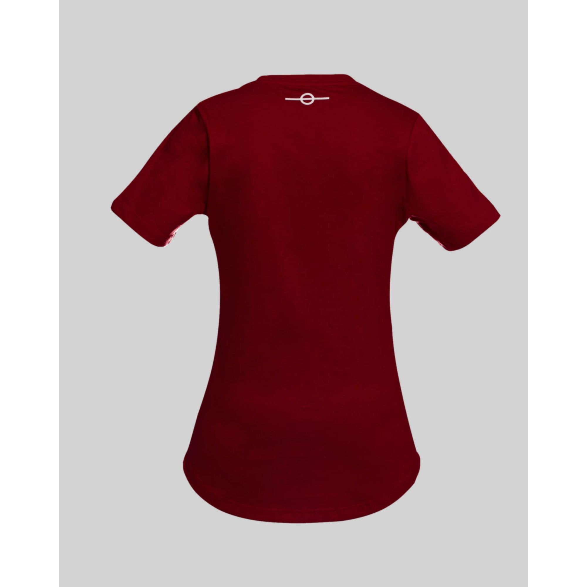 Camiseta Buh Kids Fluor Square Red