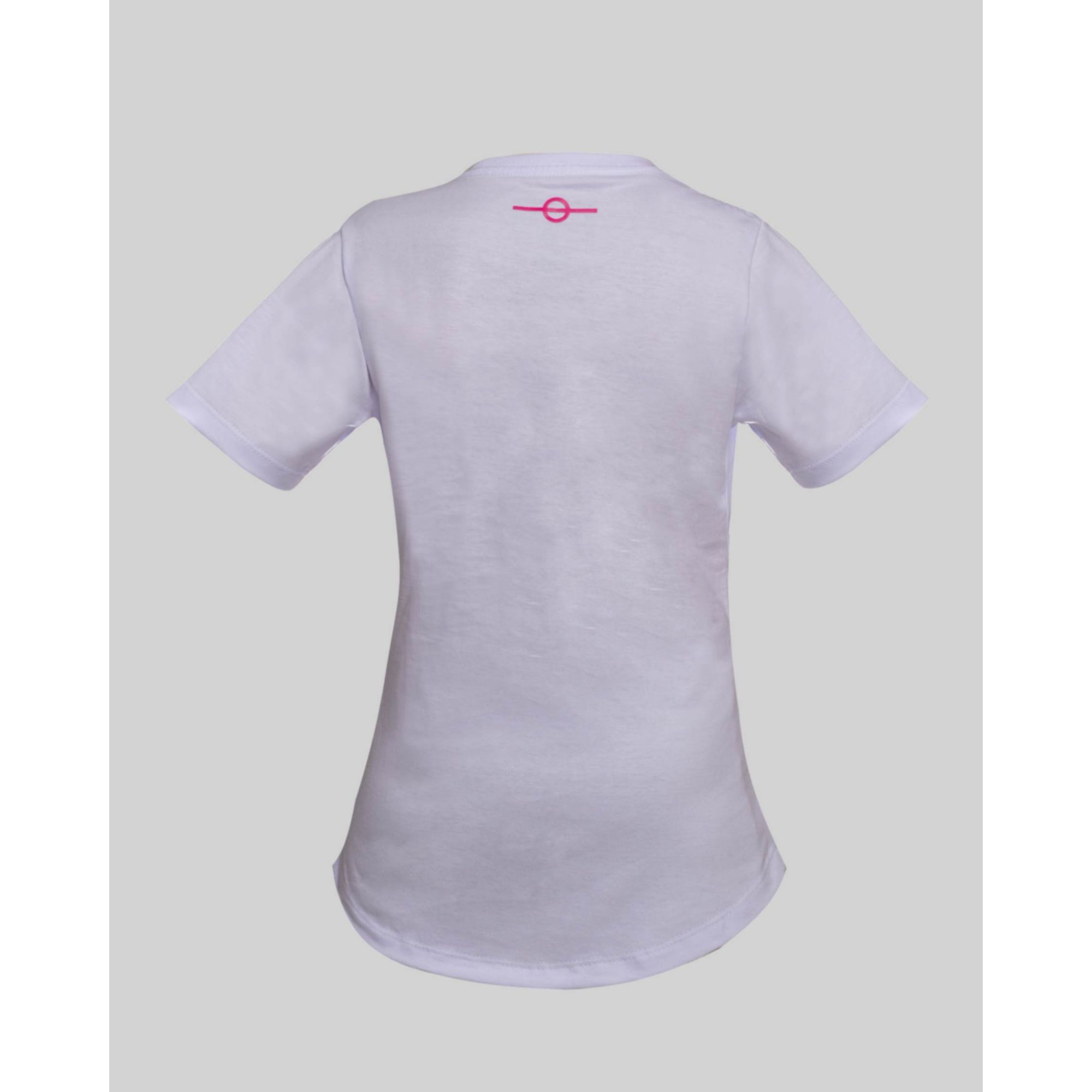 Camiseta Buh Kids Fluor Square White