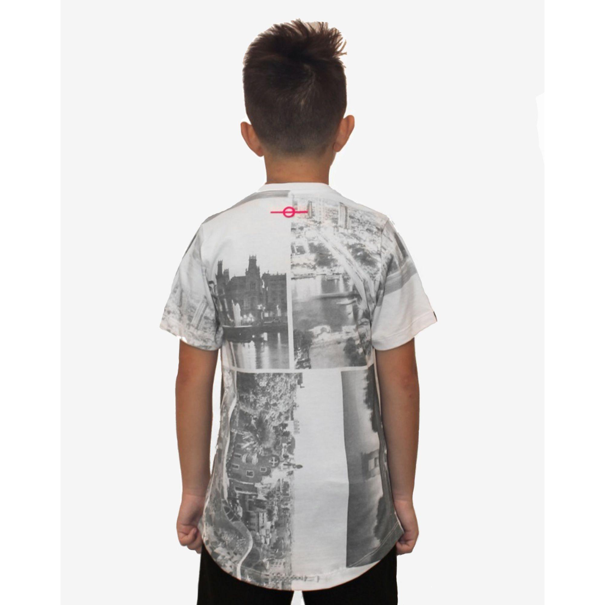 Camiseta Buh Kids Full City Heróis