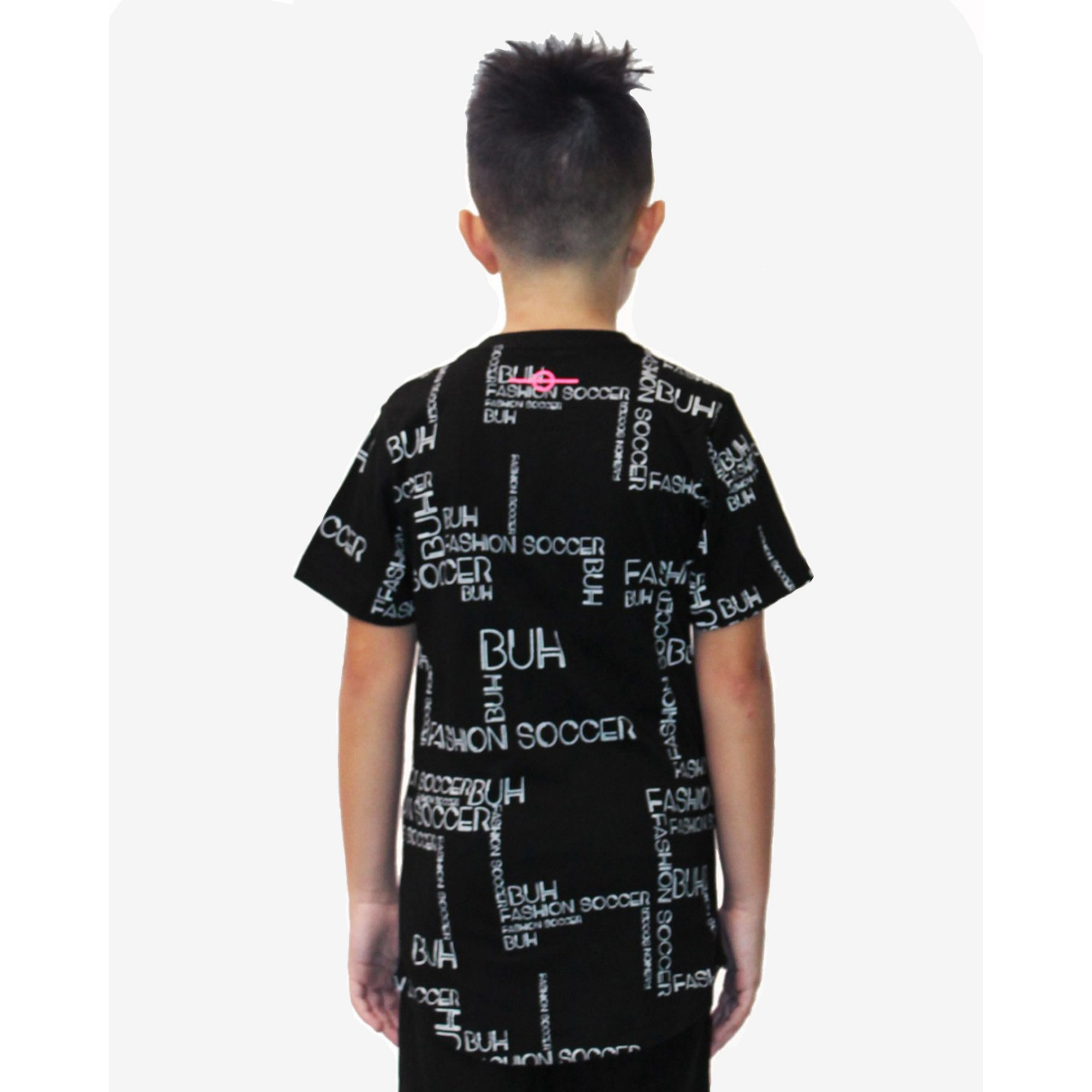 Camiseta Buh Kids Full Maps Black