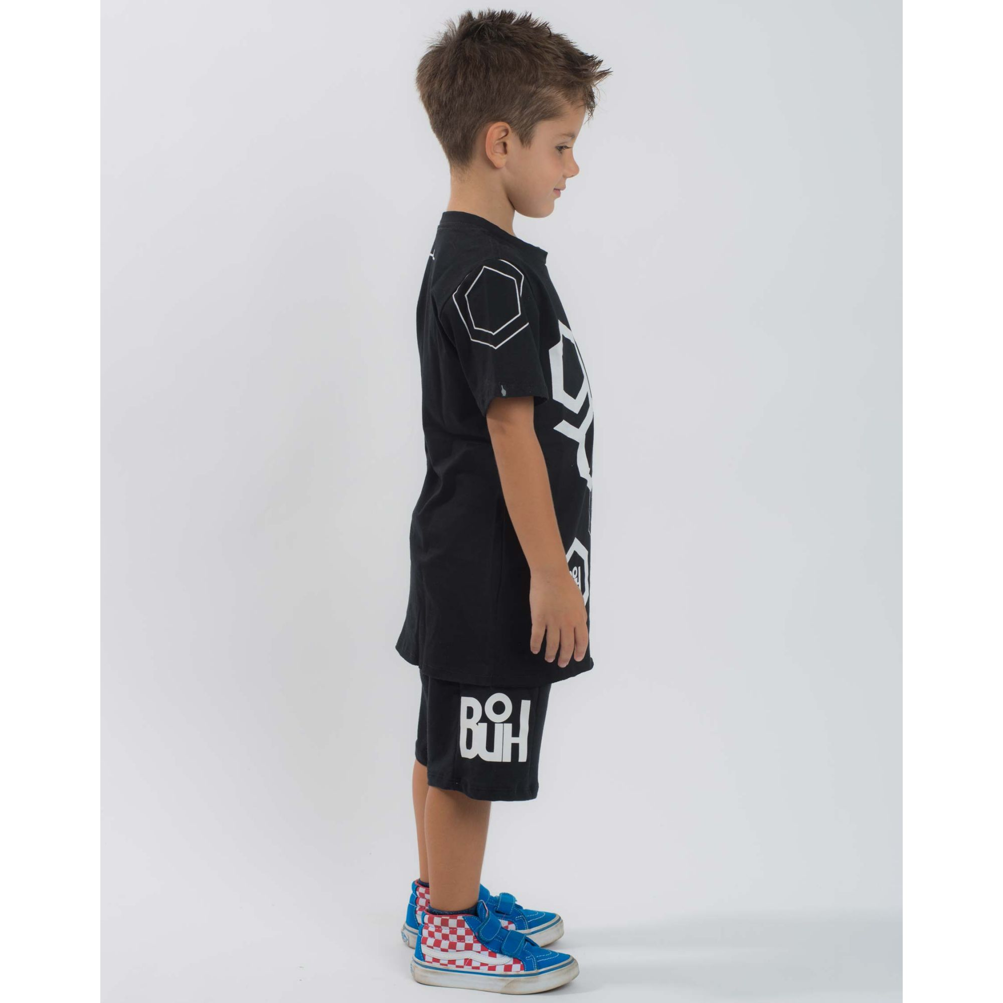 Camiseta Buh Kids God Full Black