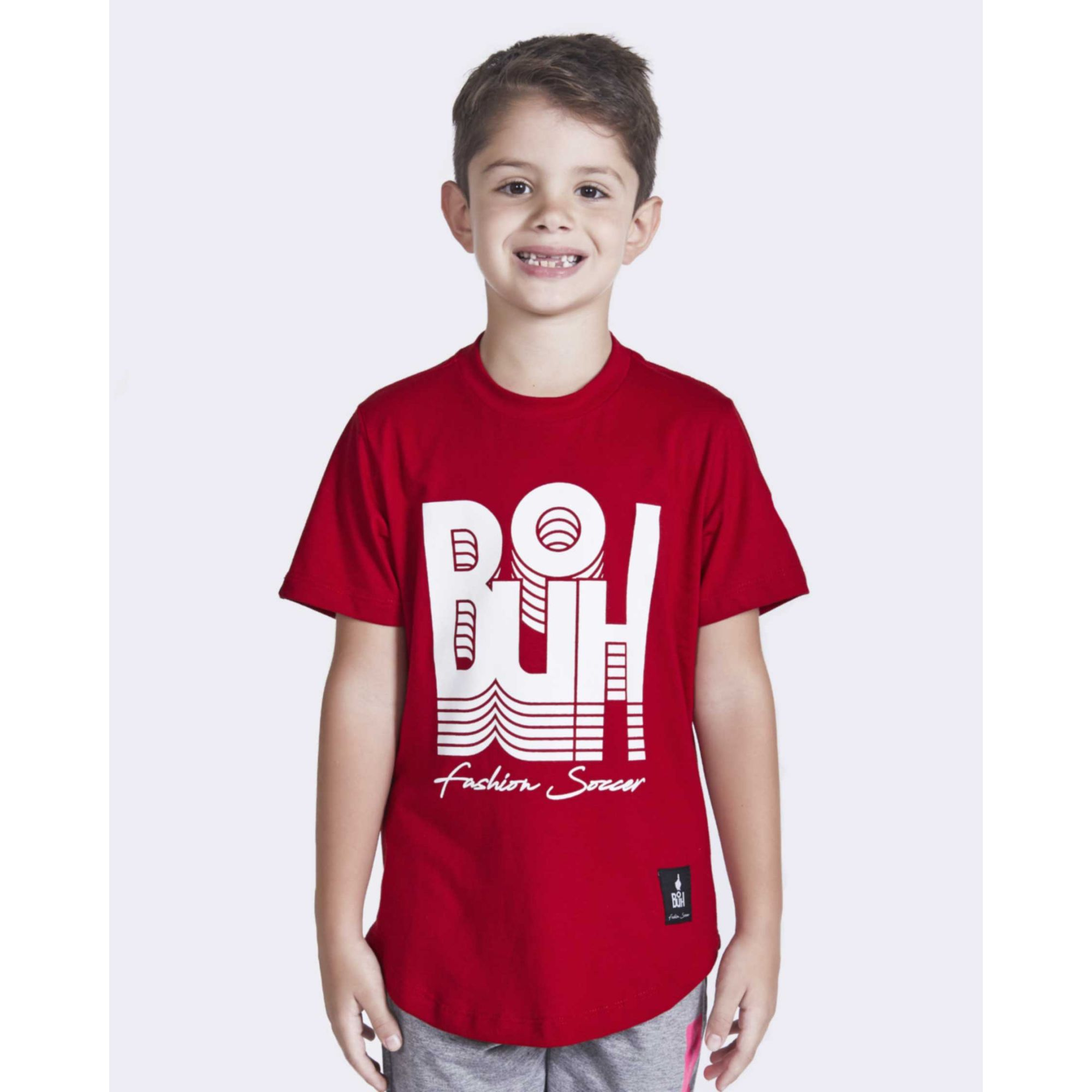 Camiseta Buh Kids Inverse Red