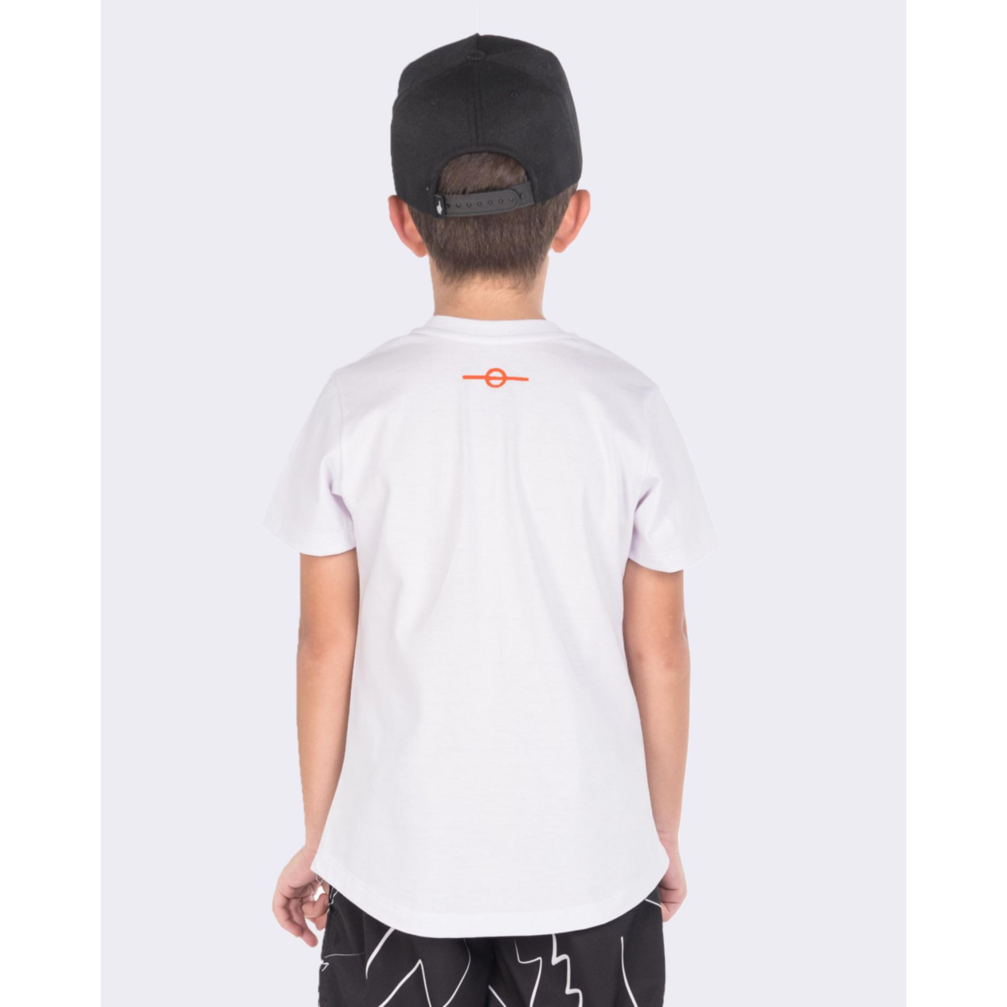 Camiseta Buh Kids Inverse White & Neon