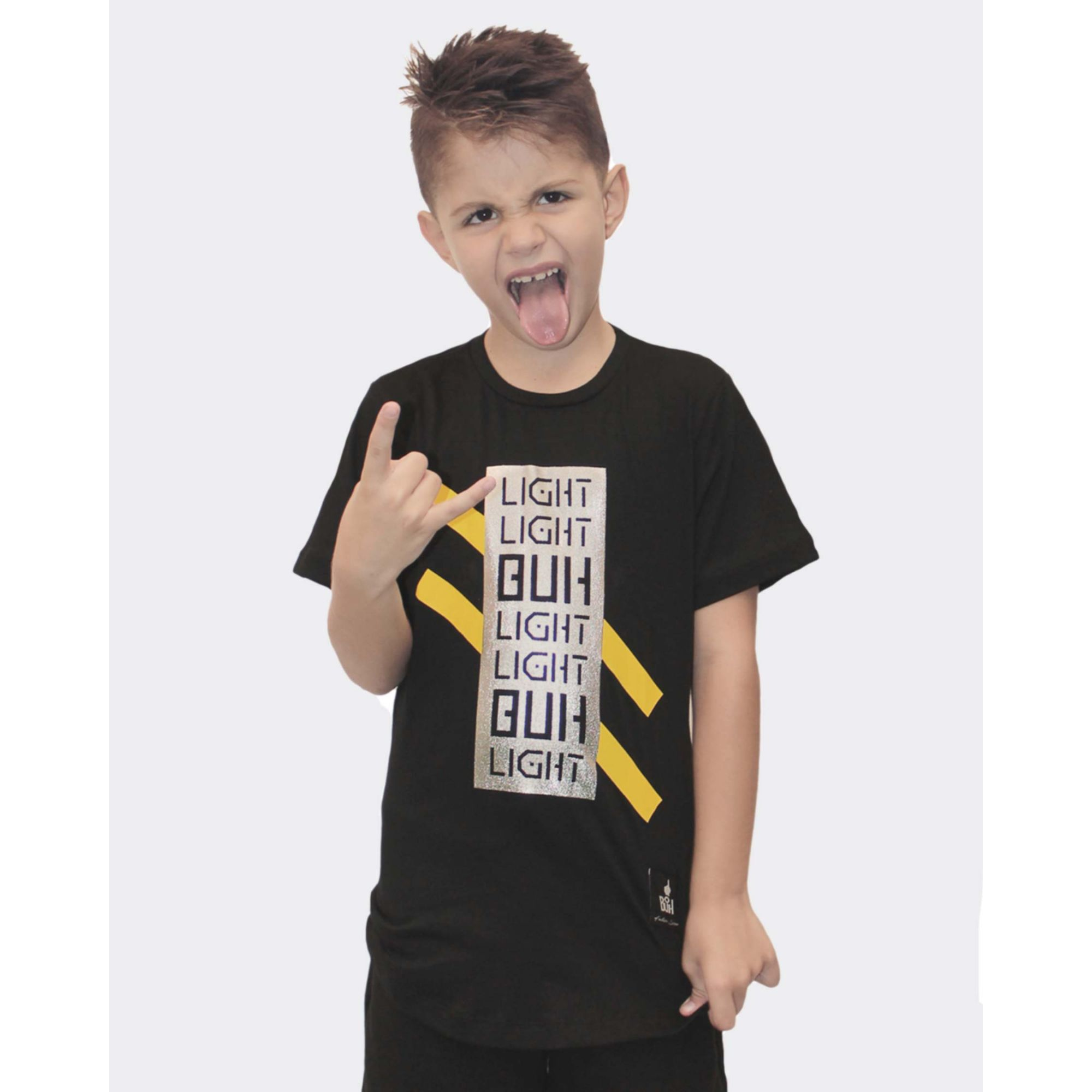Camiseta Buh Kids Light Black