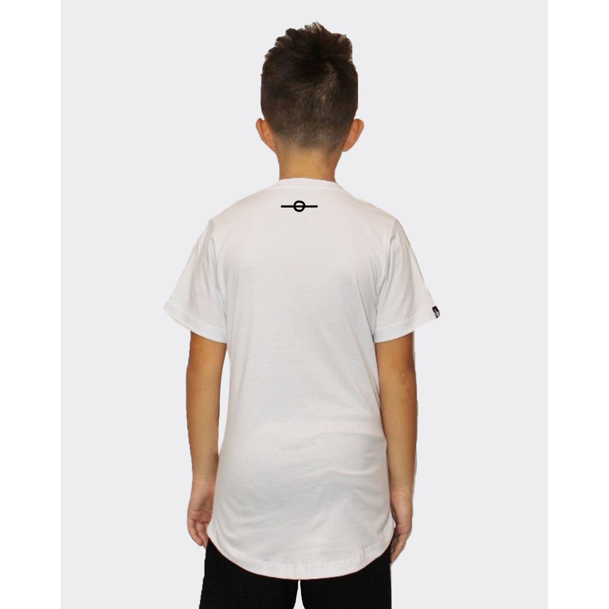 Camiseta Buh Kids Little Square White
