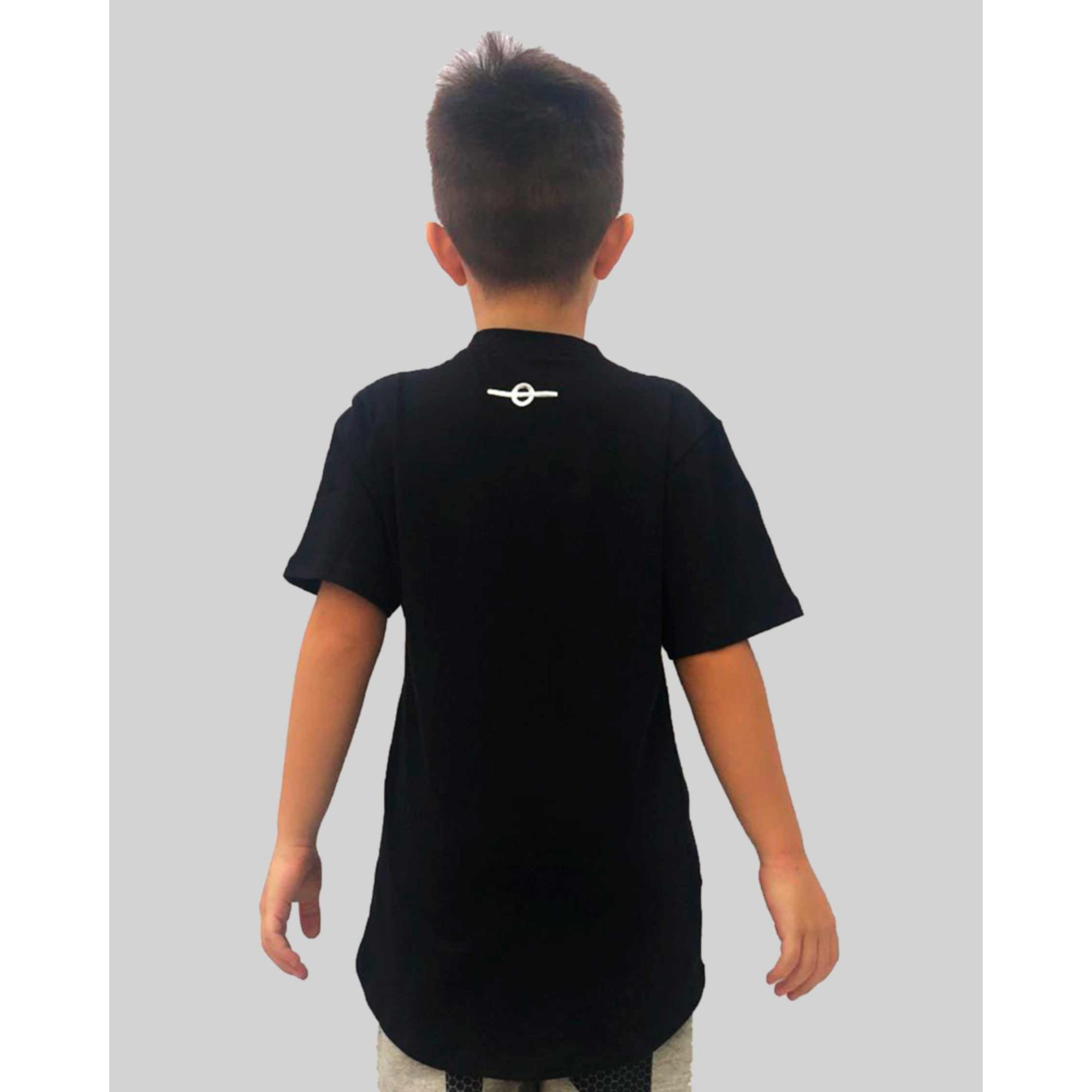 Camiseta Buh Kids MicroFoil Black