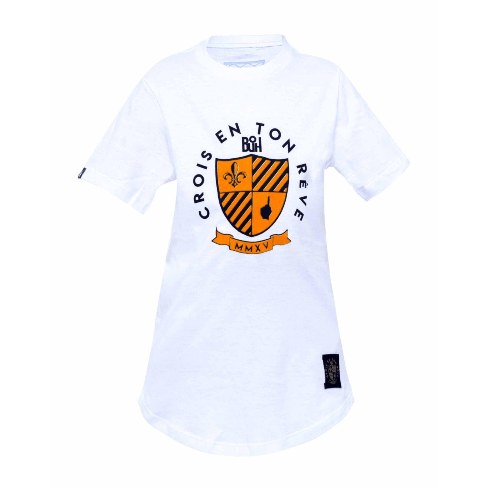 Camiseta Buh Kids MMXV Relevo White